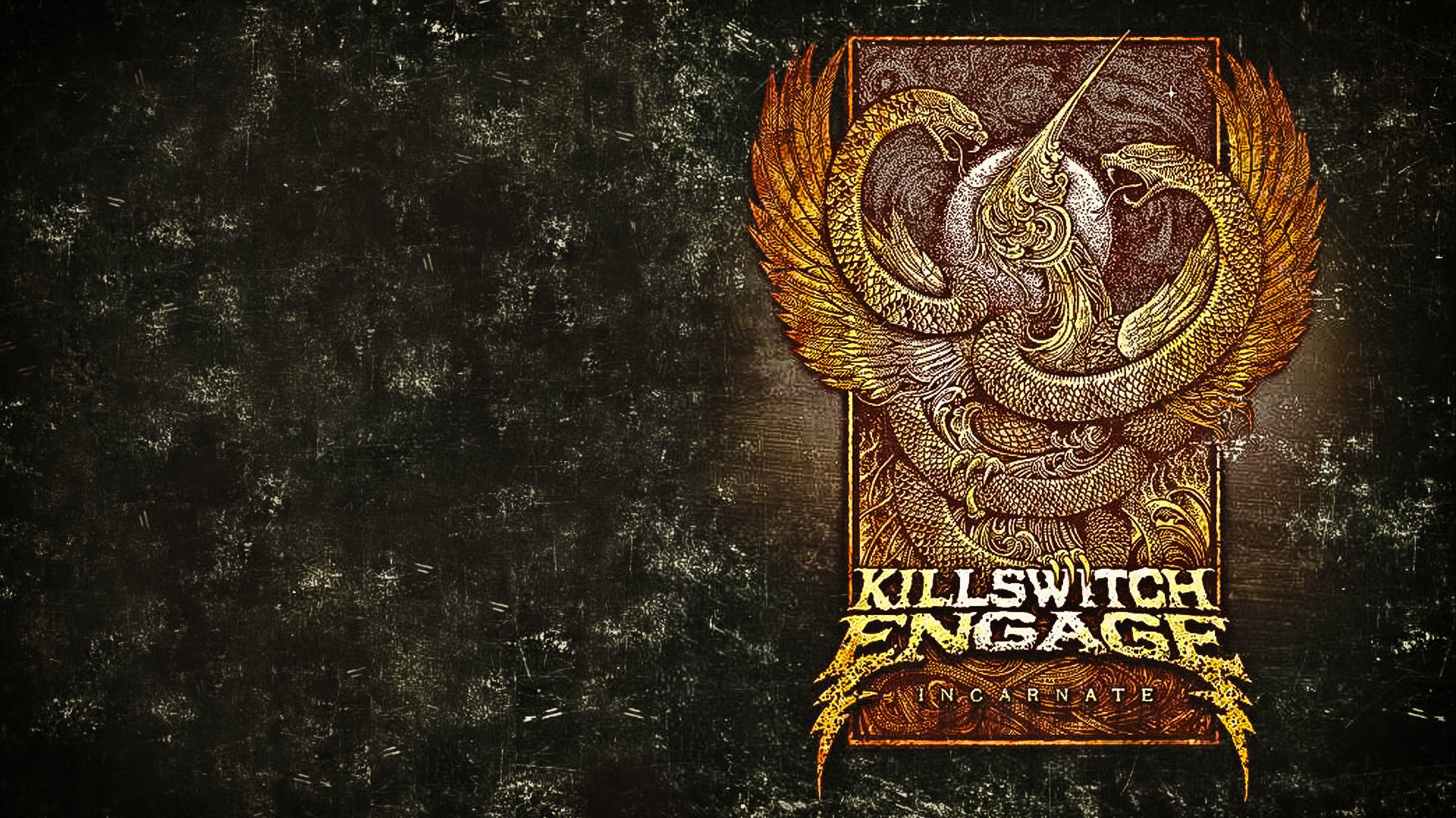 Killswitch Engage Incarnate based Wallpaper Hate by Design Strength of the  mind