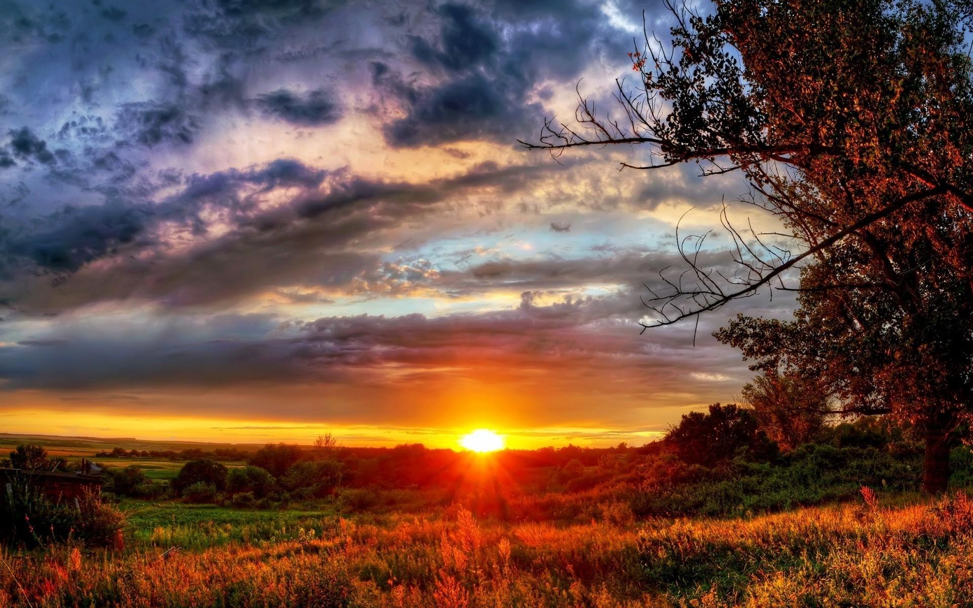 Wallpaper Gorgeous Autumn Sunset – HD Wallpaper Expert