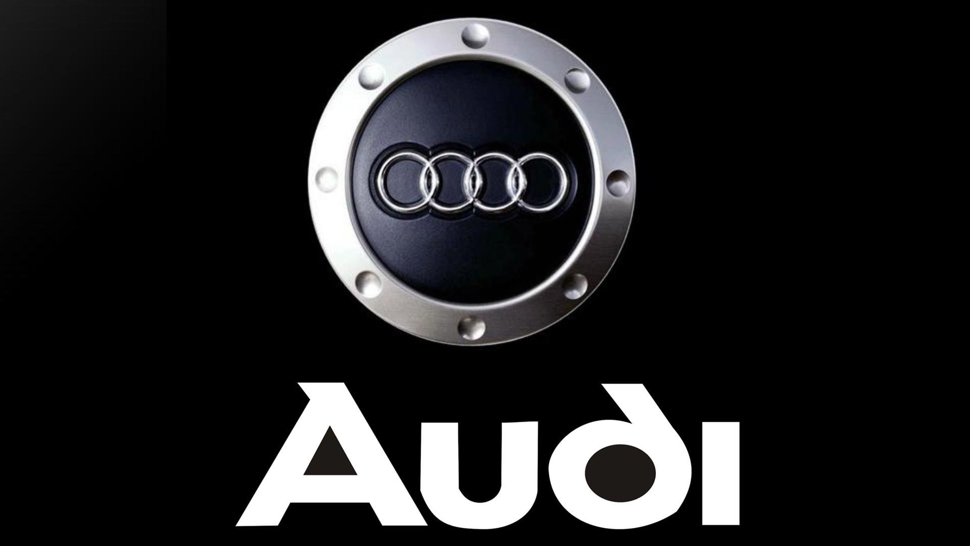 Audi Logo Full HD Wallpaper 1920×1080