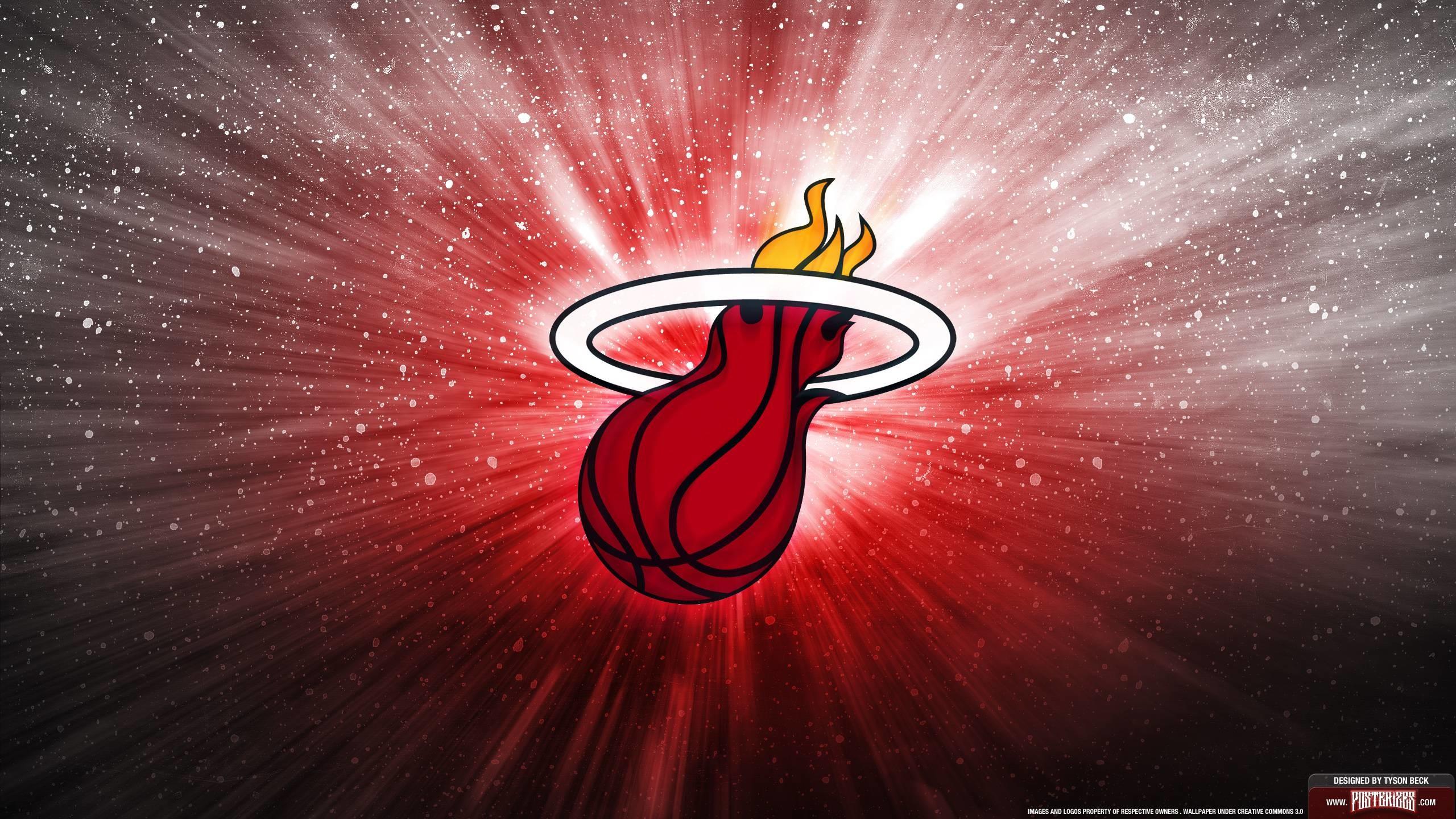Miami Heat Logo Wallpaper   Posterizes   NBA Wallpapers .