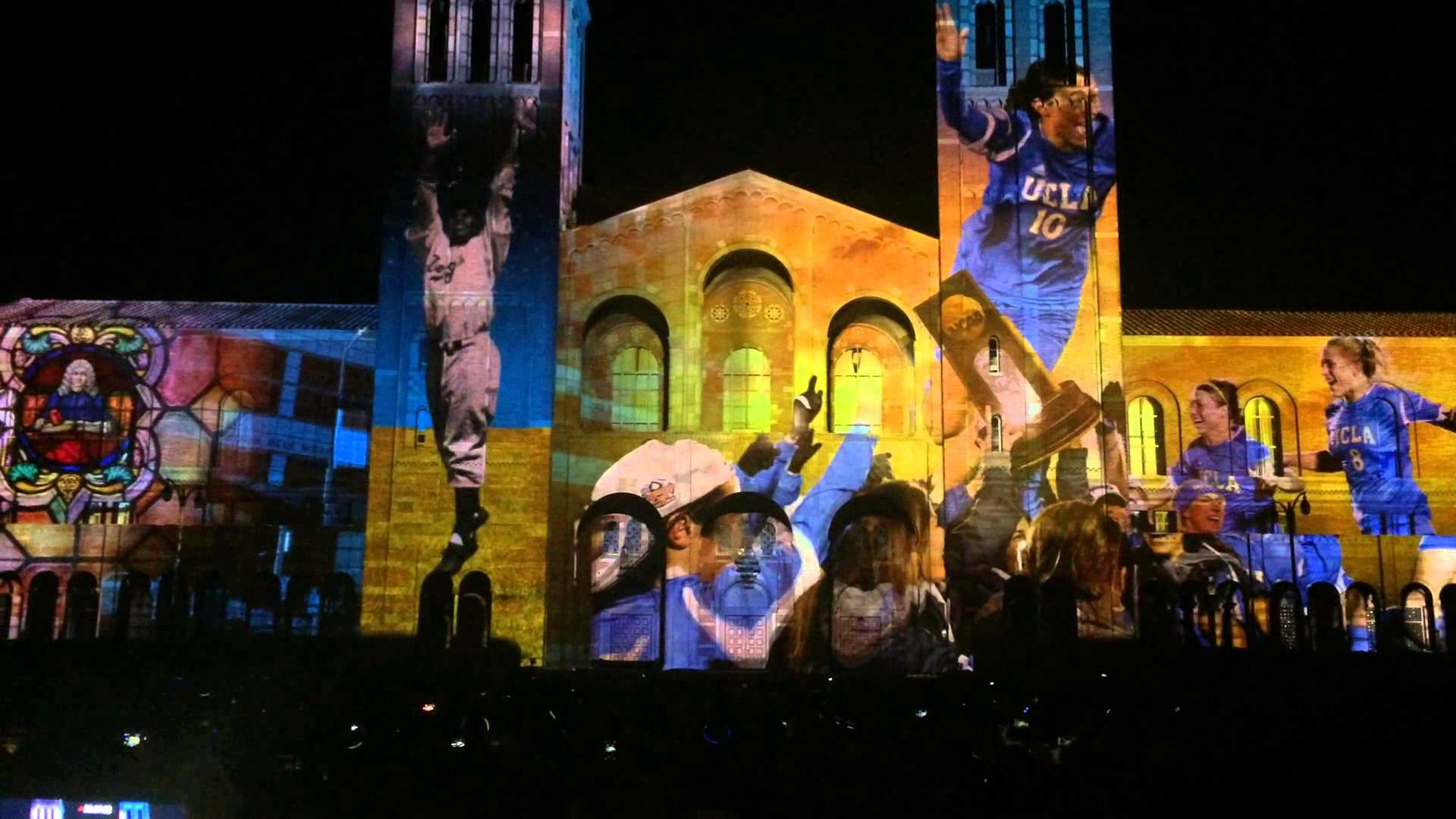 [Watch HD] UCLA Let There Be projection mapping light show @ Royce Hall  Quad – YouTube