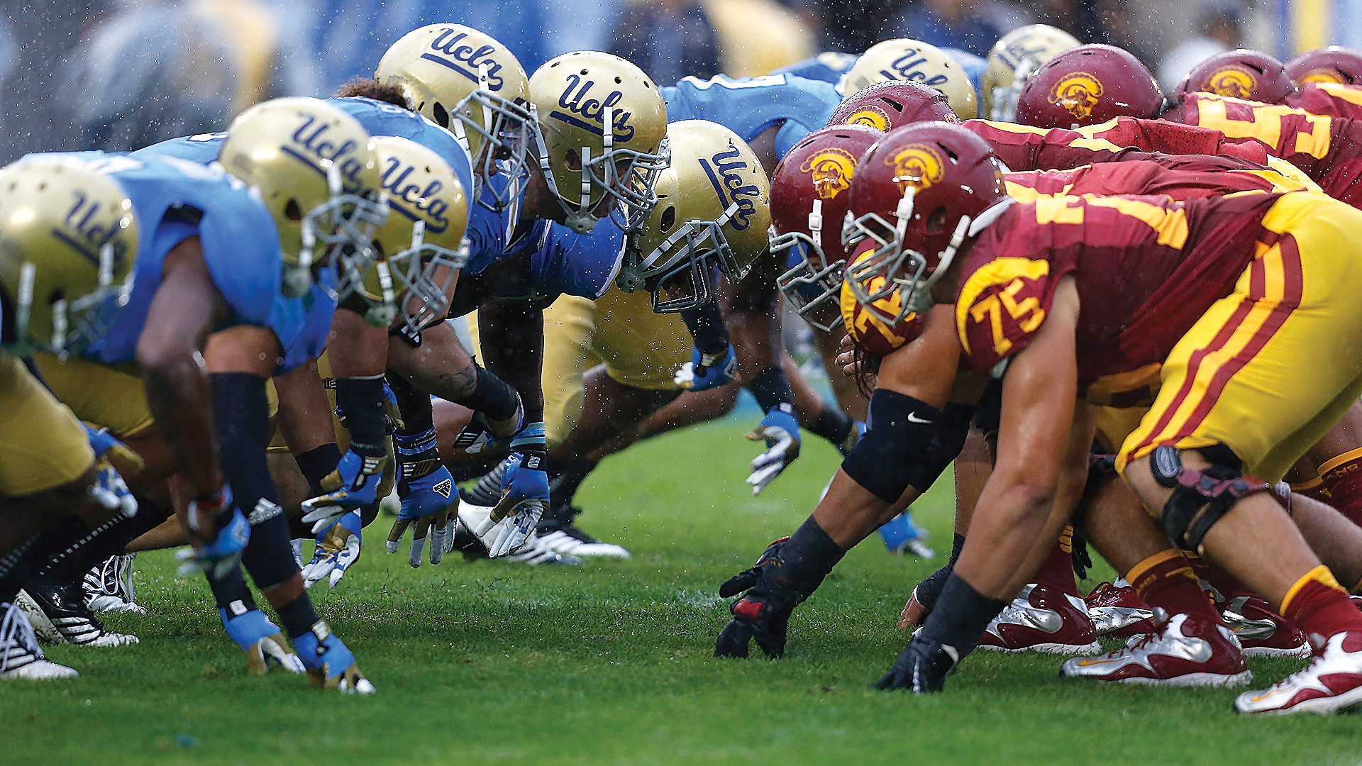 With a well-known rivalry that spans across Los Angeles and even further  beyond, the classic USC vs. UCLA football has fans crowding the bleachers  game …