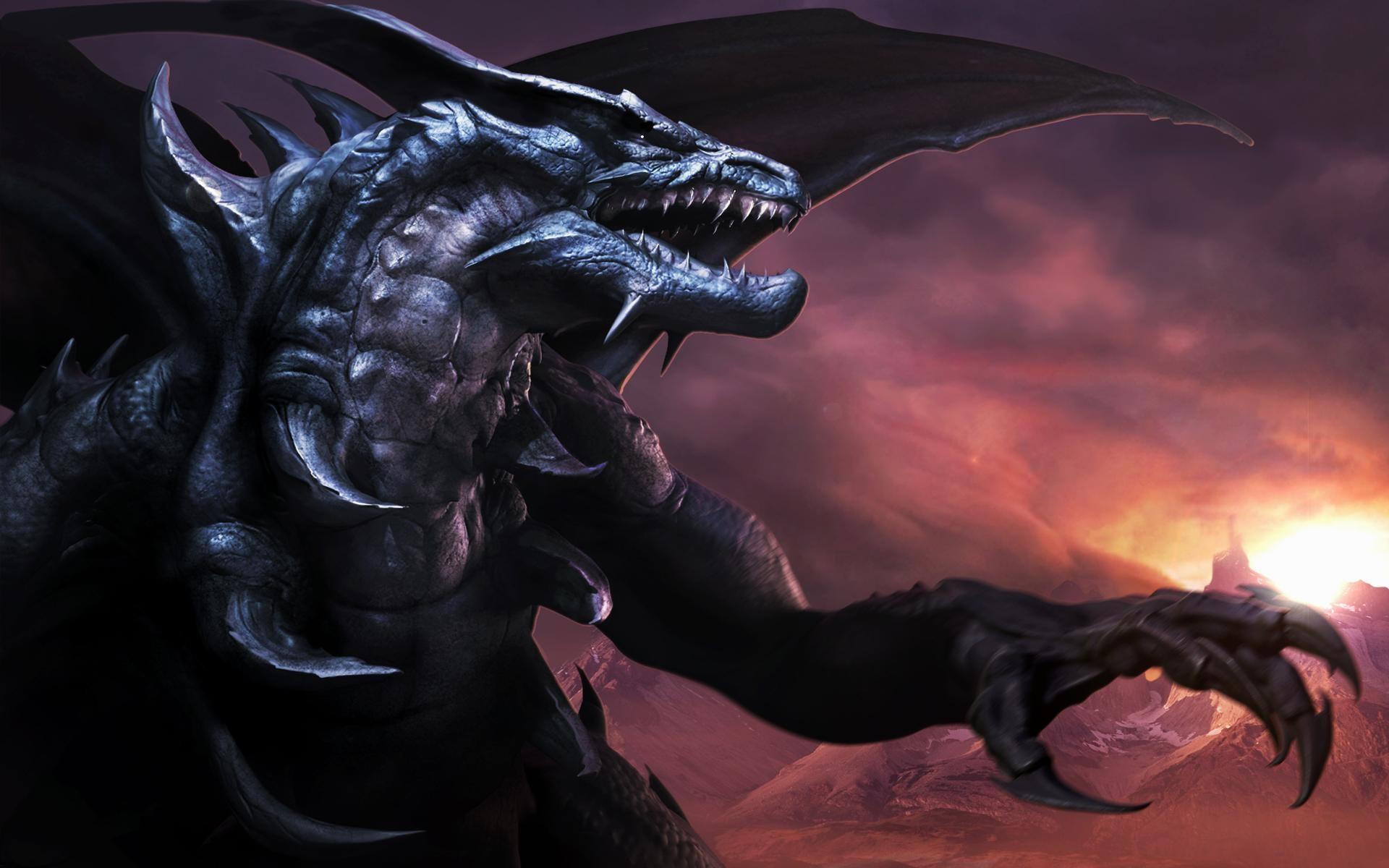 Dragon-Black-Dragon-Dragons-Fanpop-fanclubs-wallpaper-wp3405029