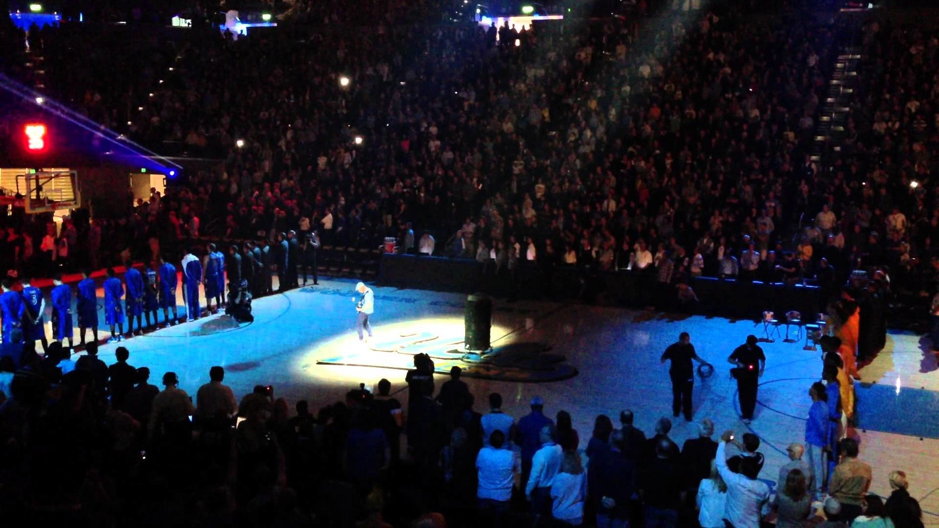 Flea – Star Spangled Banner – UCLA v Indiana St (2012-11-09)