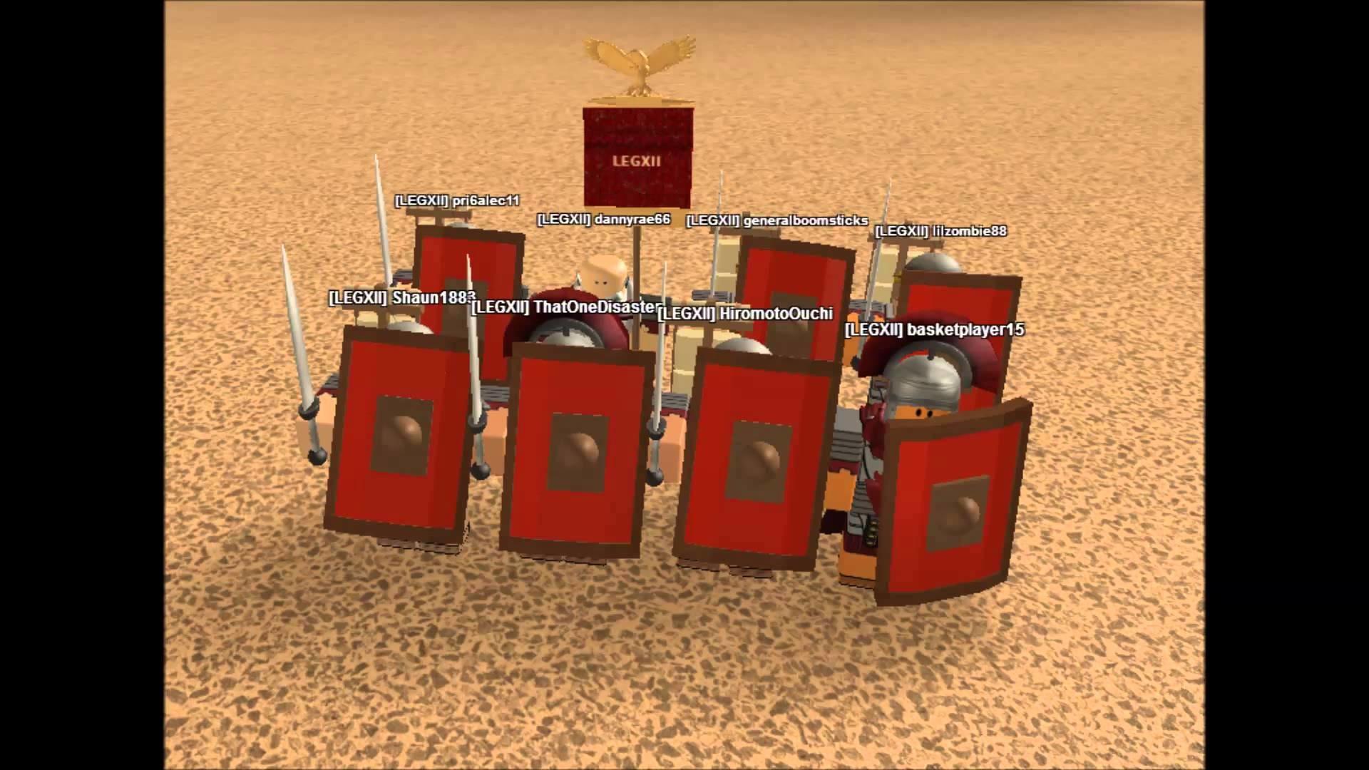 Roblox – Senate People of Rome, Legion 12, Fulminata Legion.