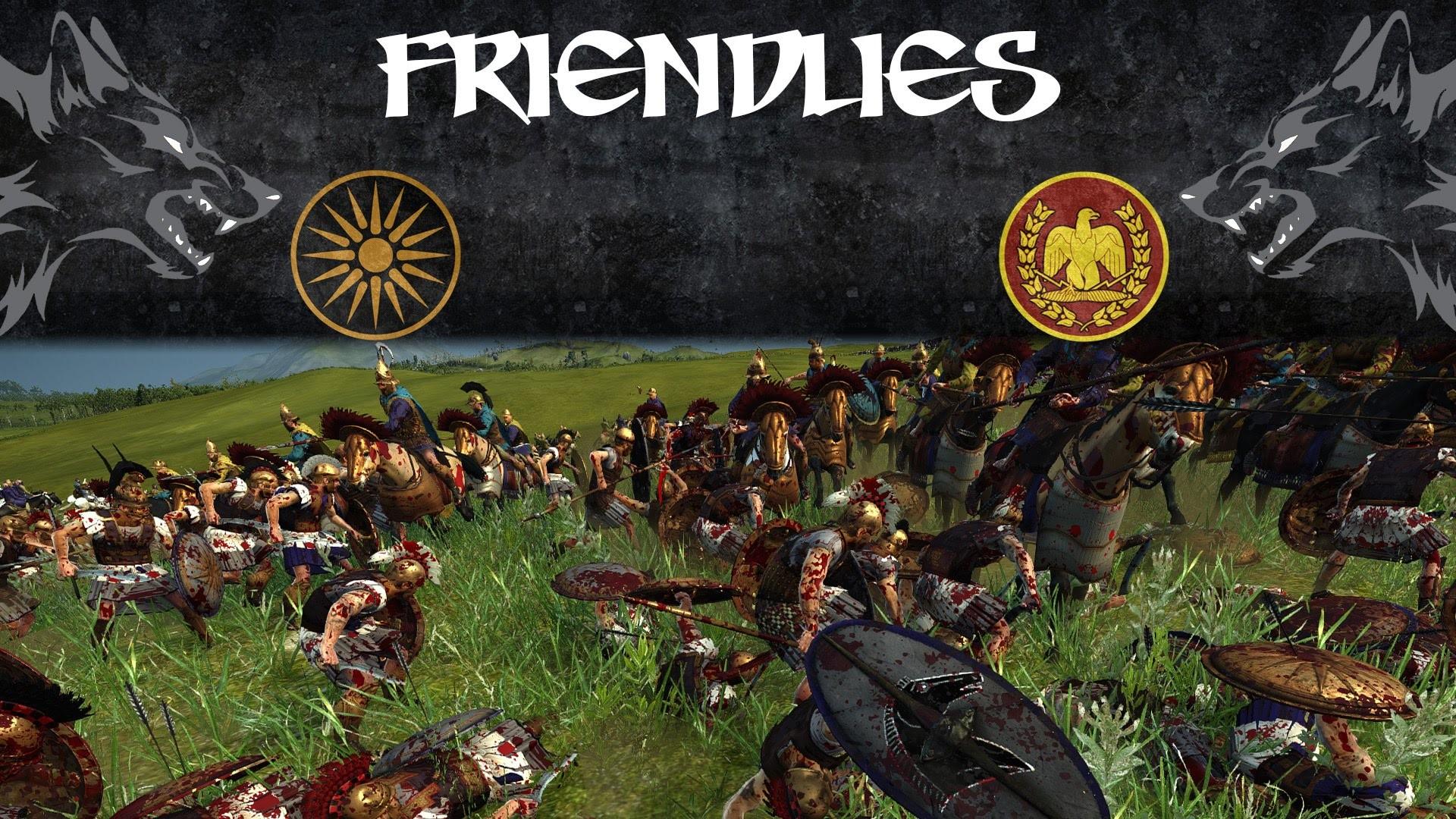 Macedonian Pikes vs Roman Legions! | Macedon vs Rome | Total War Rome 2  Online Battle
