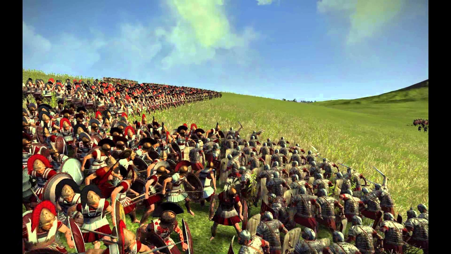 roman legion vs spartan phalanx: who wins? cinematic battle + analysis (rome  2 wrath of Sparta) – YouTube