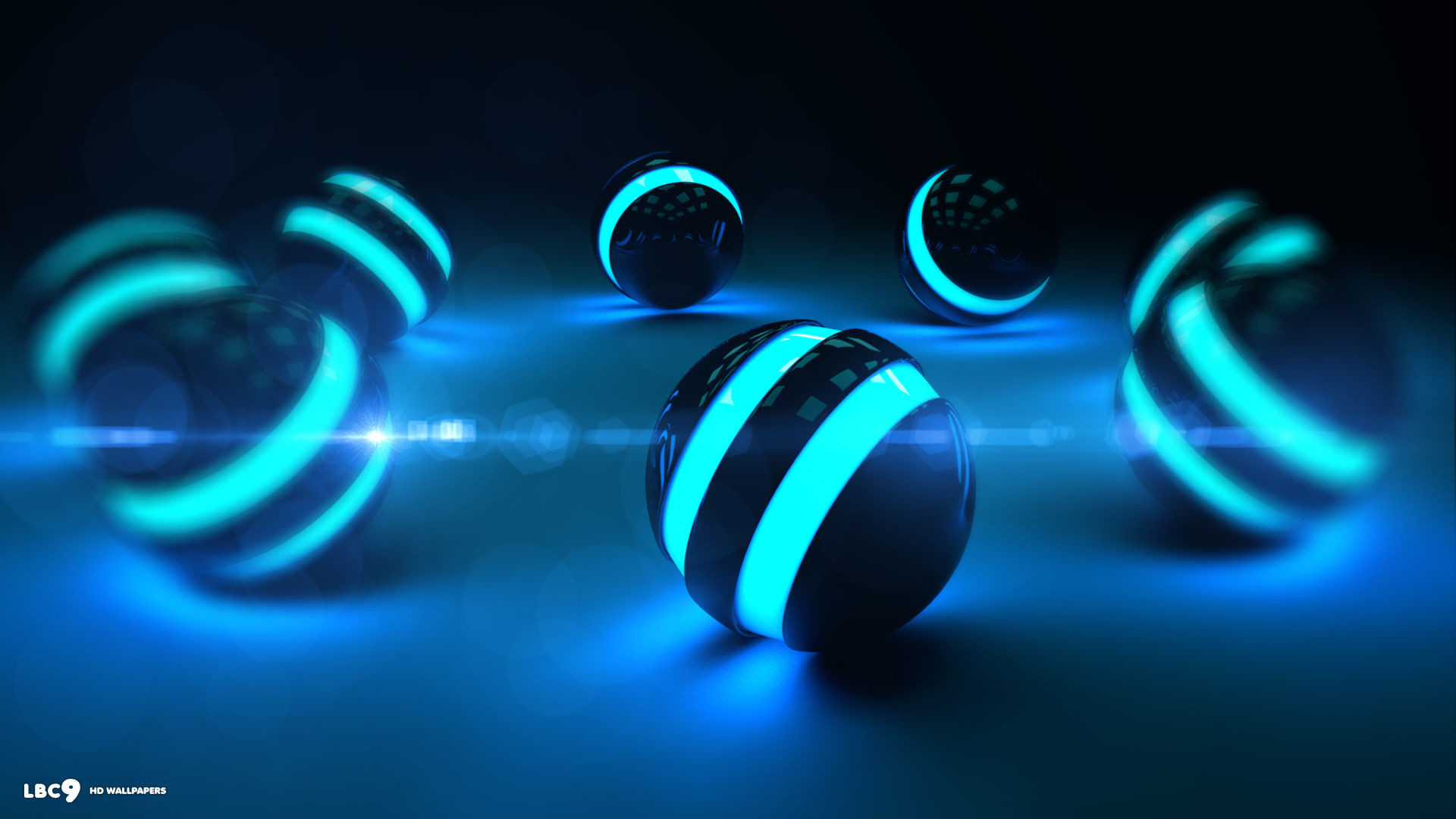 синие светящиеся картинки на рабочий стол люмия любом