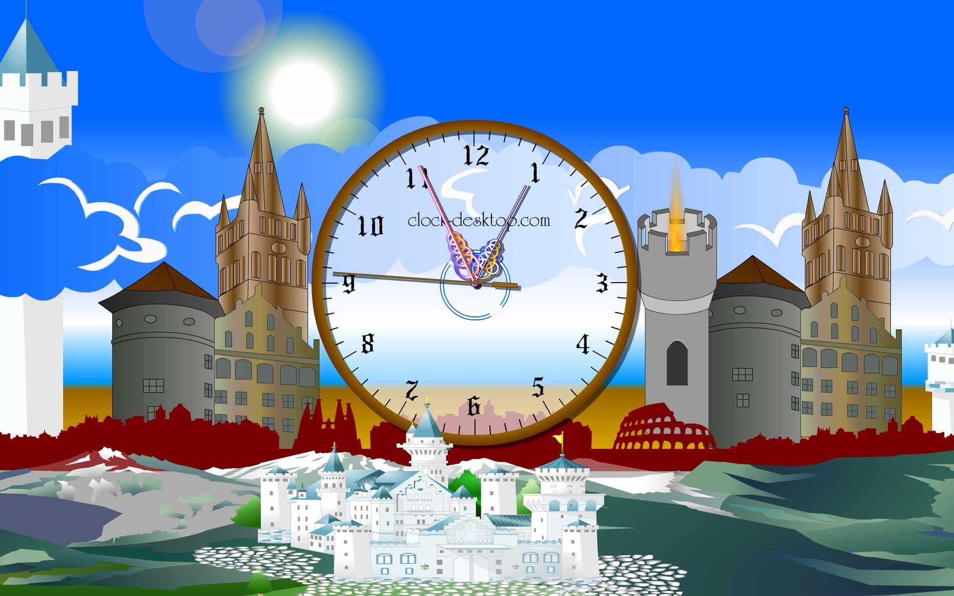 Castle Clock Live Animated Wallpaper 1.3