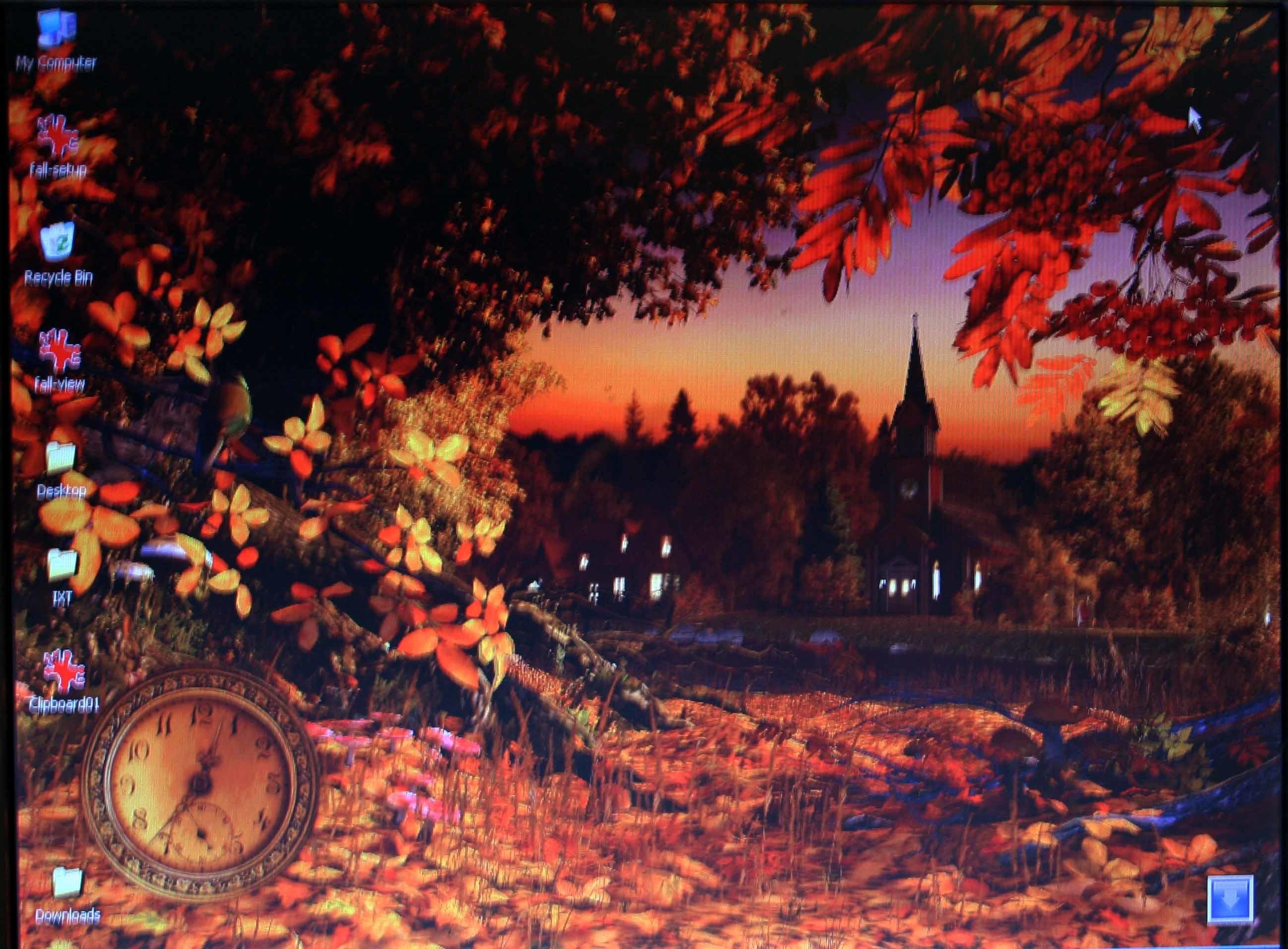 Autumn Wonderland 3D Screensaver and Animated Wallpaper screenshots