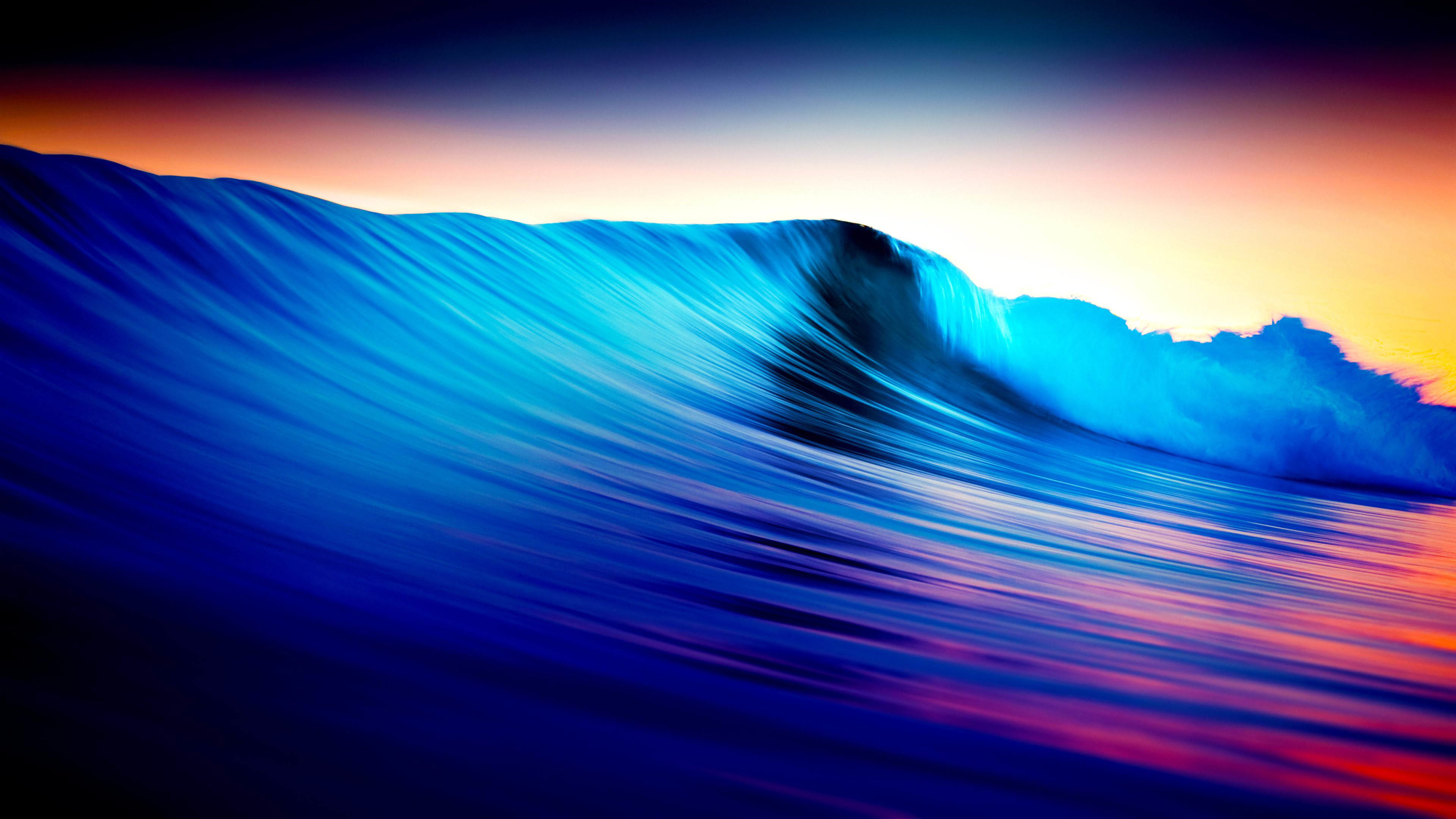 Amazing Colored Waves wallpaper