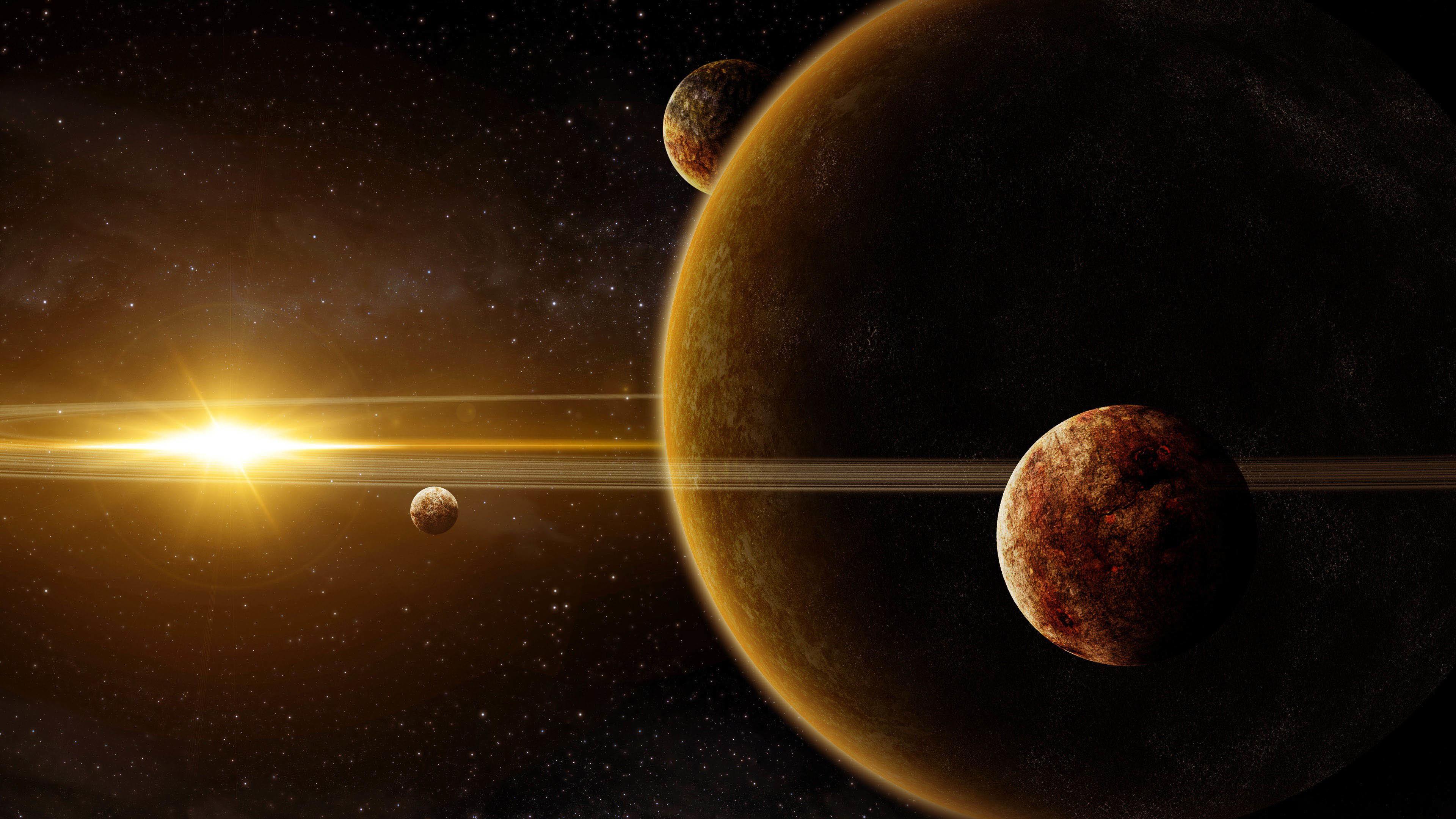 Beautiful Solar System wallpaper