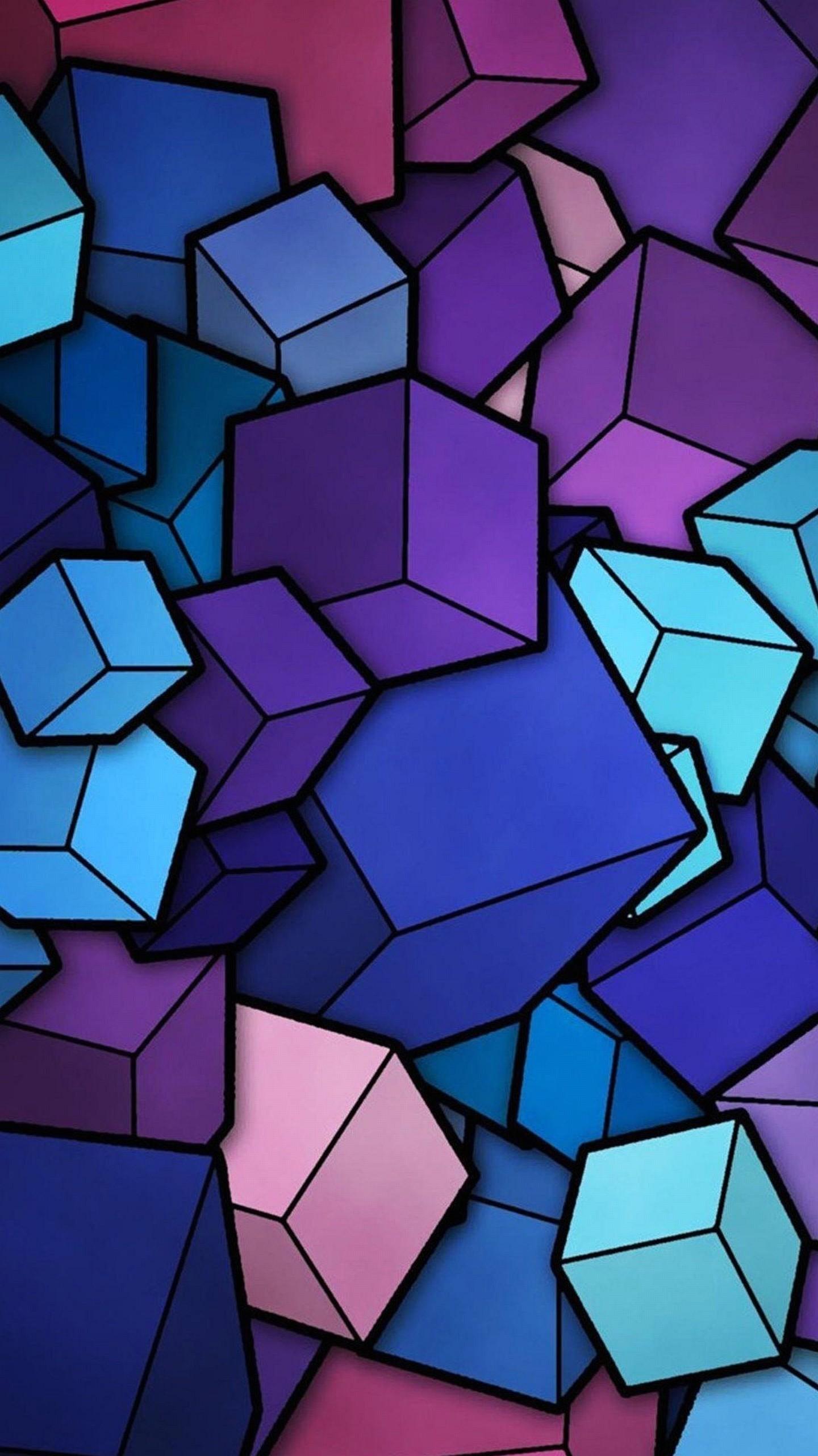 Z Wallpaper Lg G3 Cubes Abstract 1440 2560 241