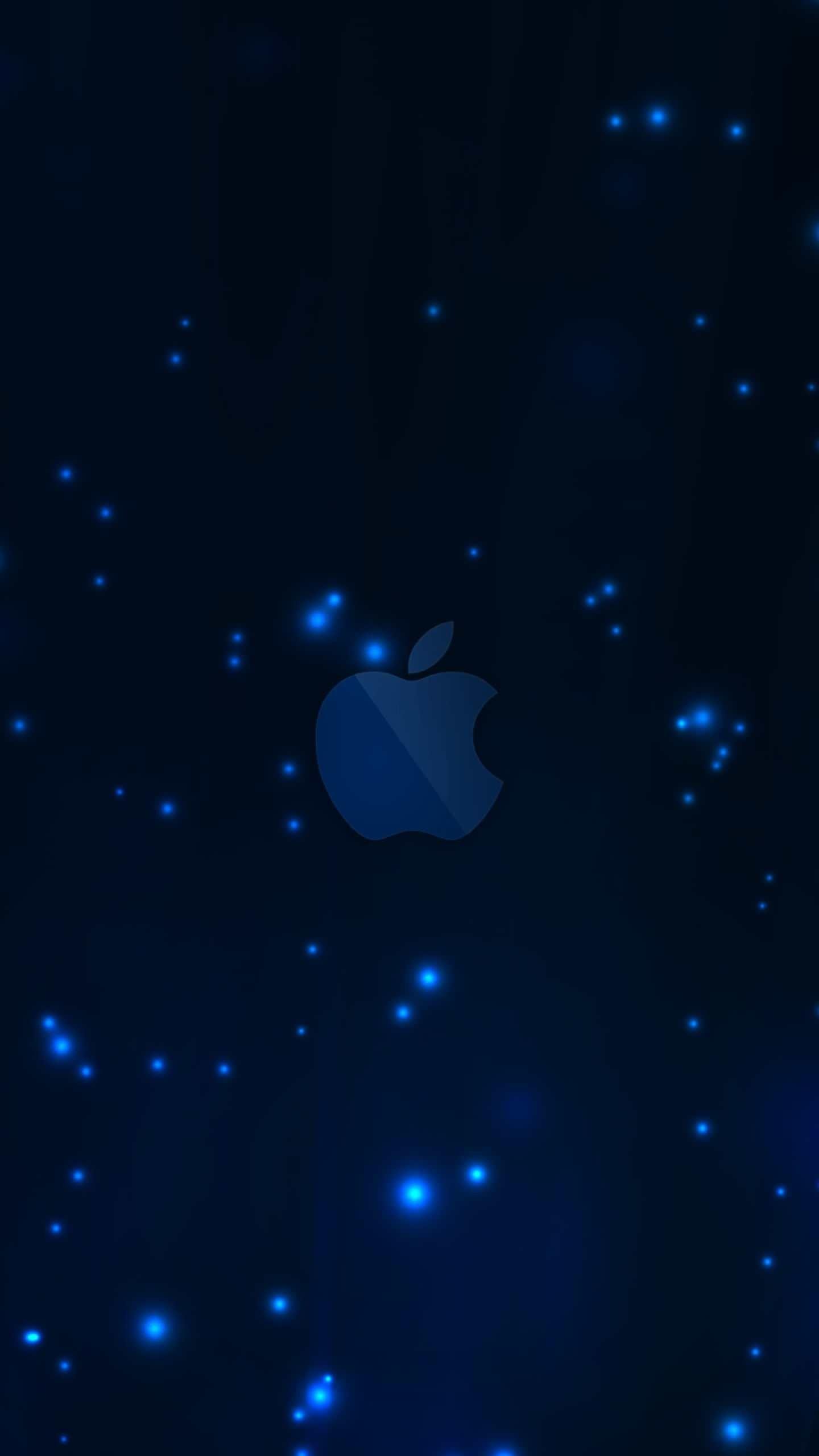 Apple blue   wallpaper.sc SmartPhone