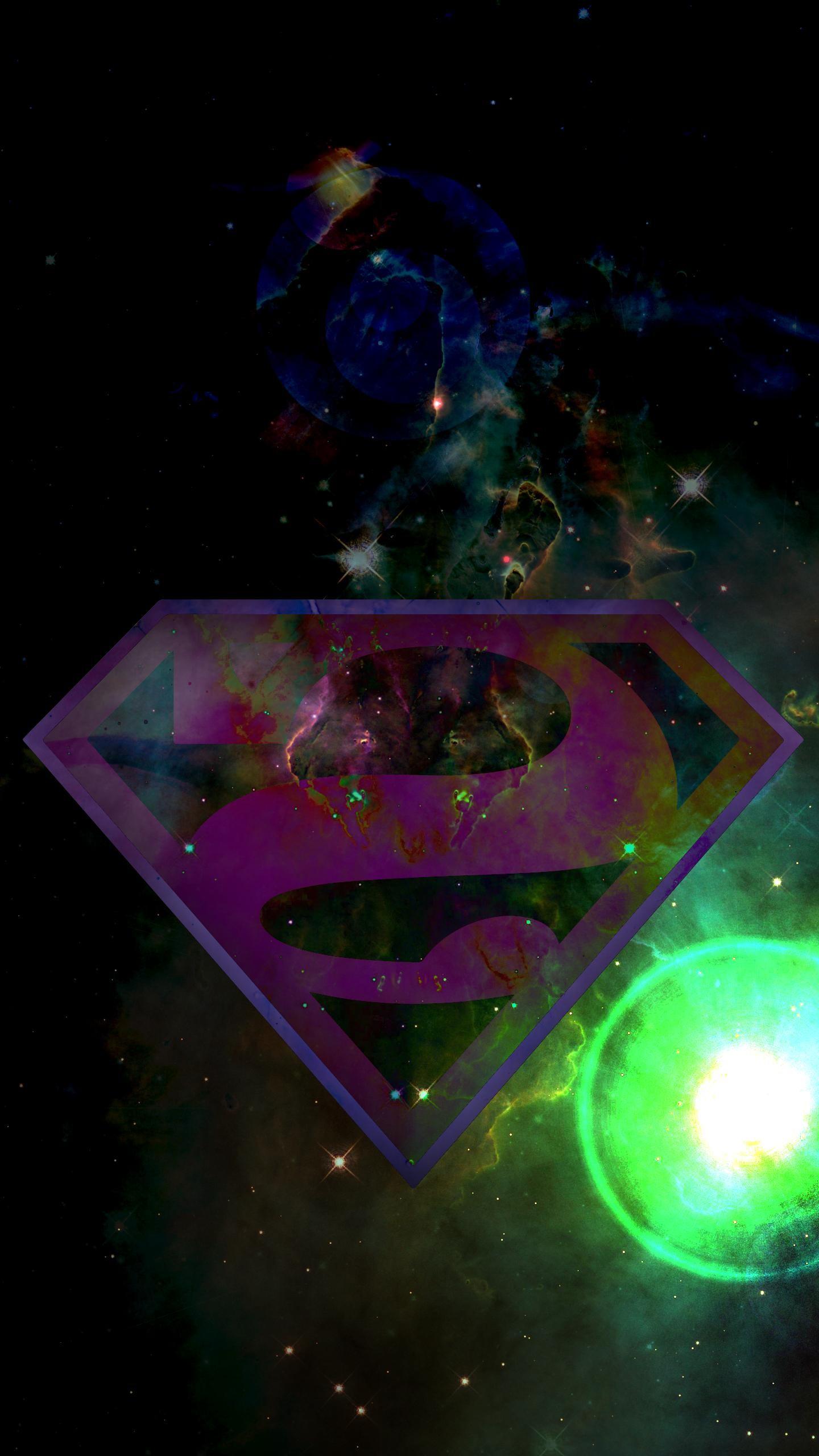 [1440×2560](Superman) Bizarro High Res Phone Wallpaper (OC)