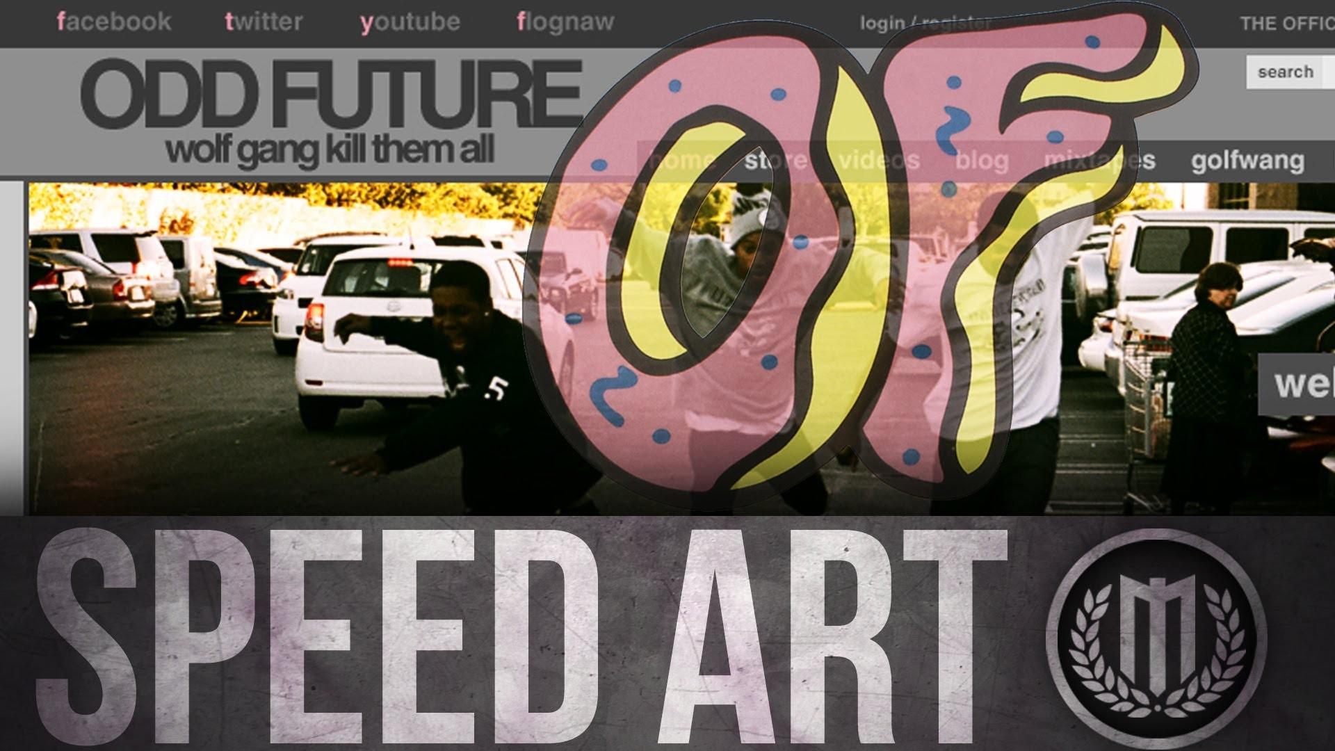 Odd Future Web-Design ( #Photoshop )