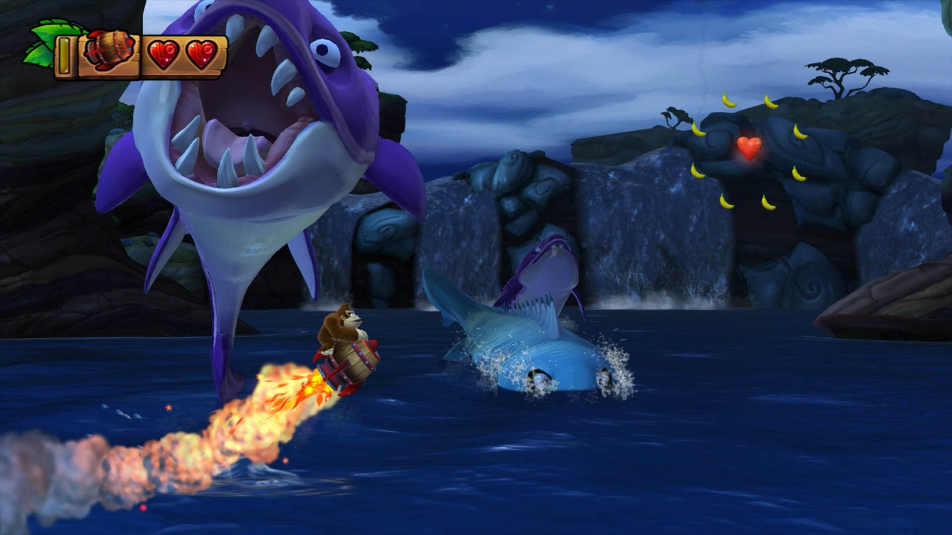 free wallpaper and screensavers for donkey kong country tropical  freeze