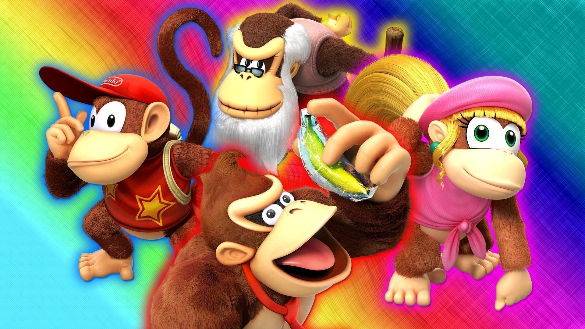 Donkey Kong Country: Tropical Freeze Wallpaper by Glench on DeviantArt
