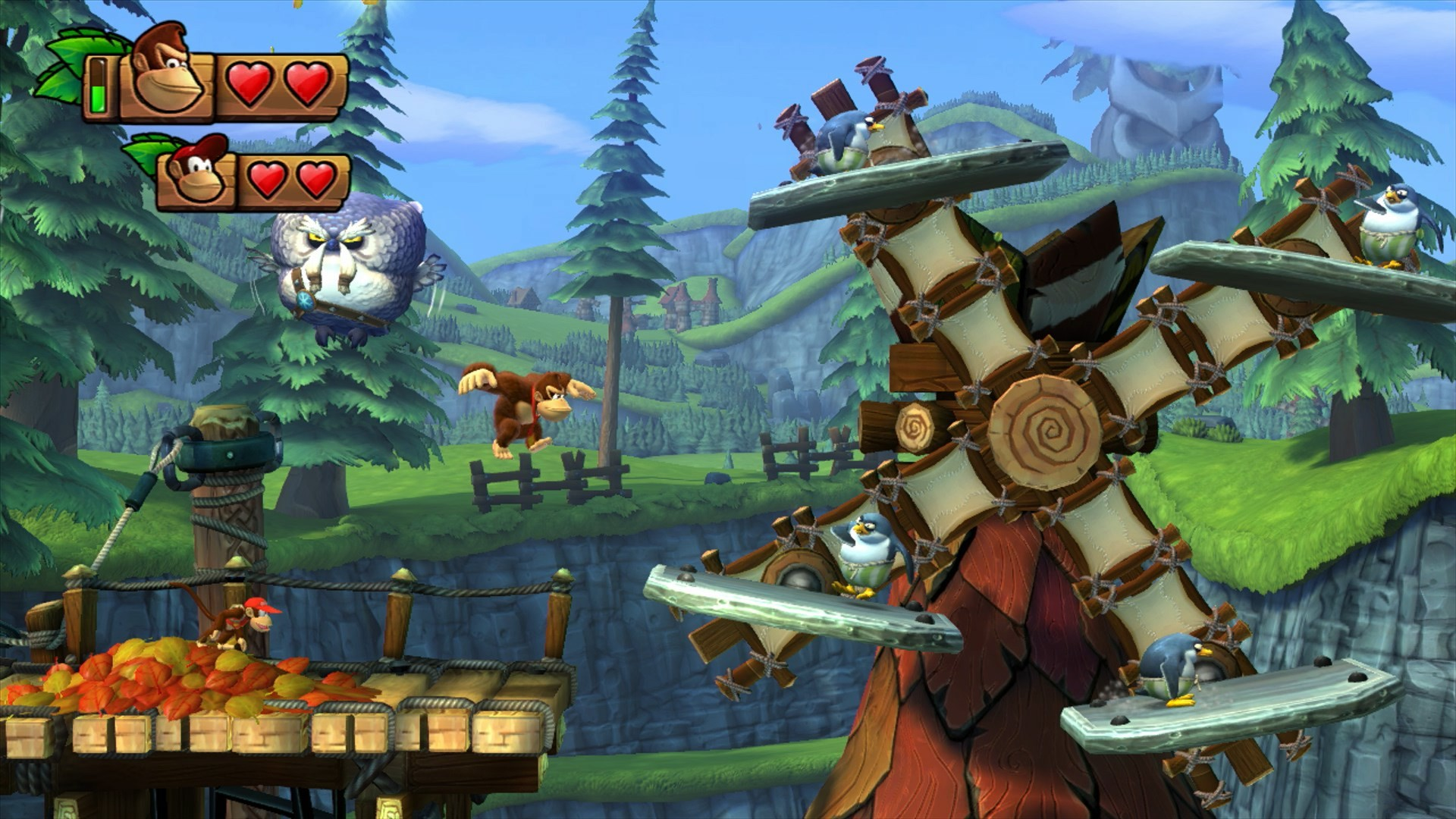 donkey kong country tropical freeze free for desktop 1920×1080
