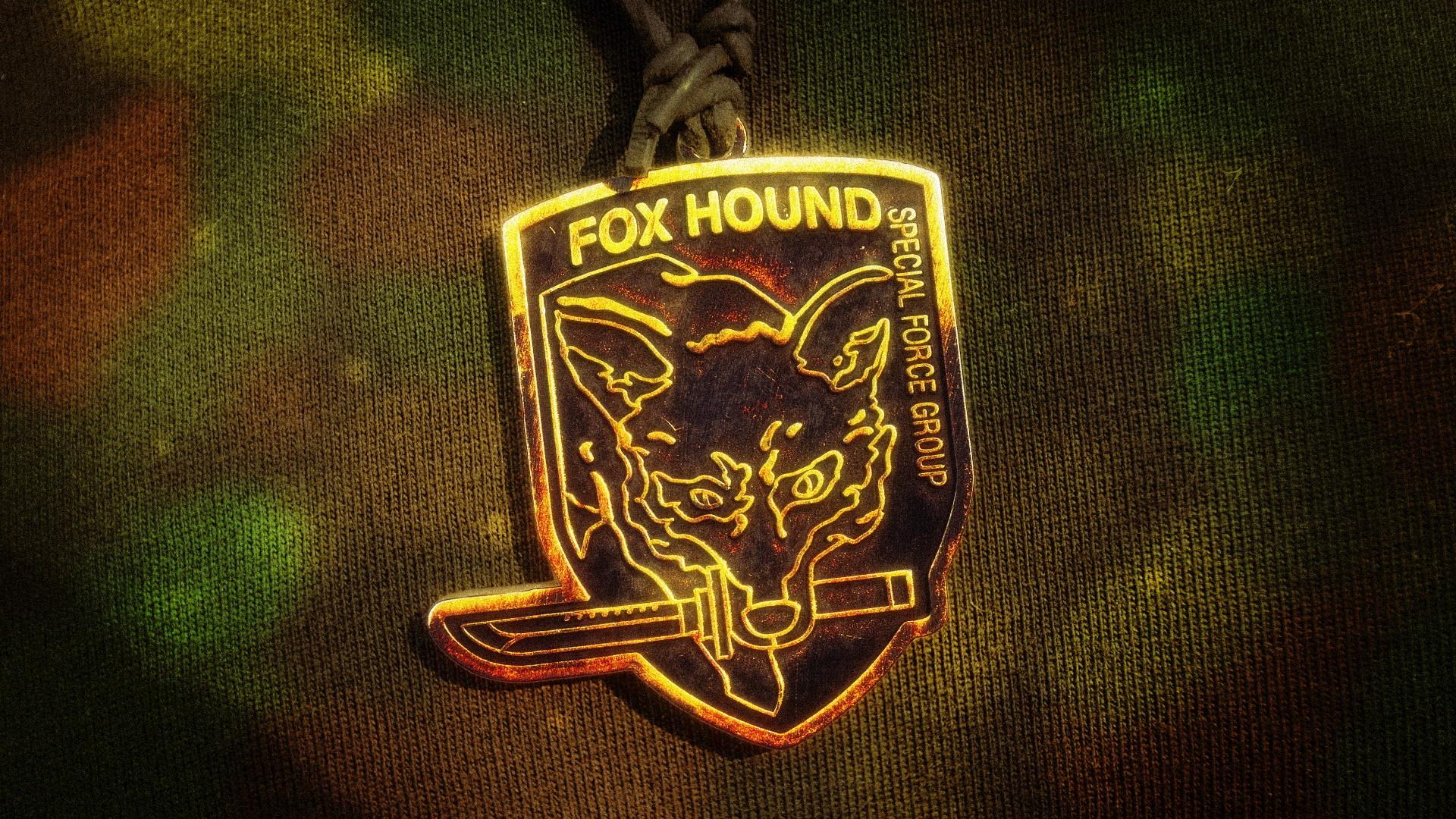 … Fox Hound Pendant Camo Wallpaper by nxsvinyard