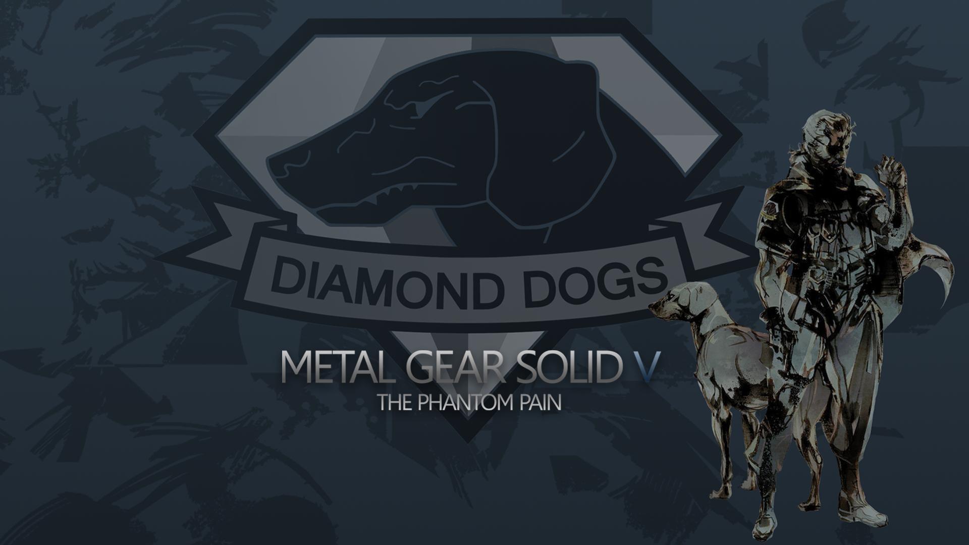 mgsv diamond dogs wallpaper by sleepingsandman watch fan art wallpaper .