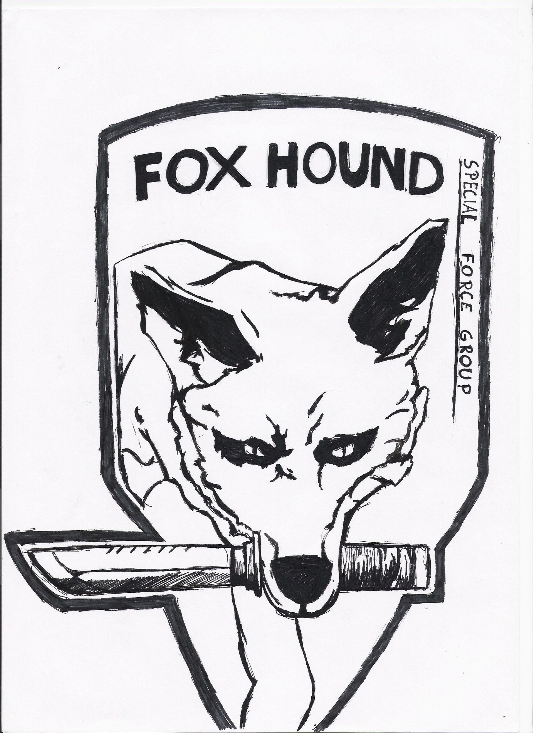 … new Fox Hound Logo by Pvt-Snowball