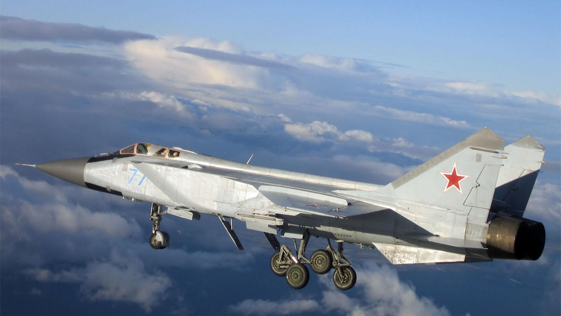 Mig-31 foxhound military jet wallpaper     220519   WallpaperUP