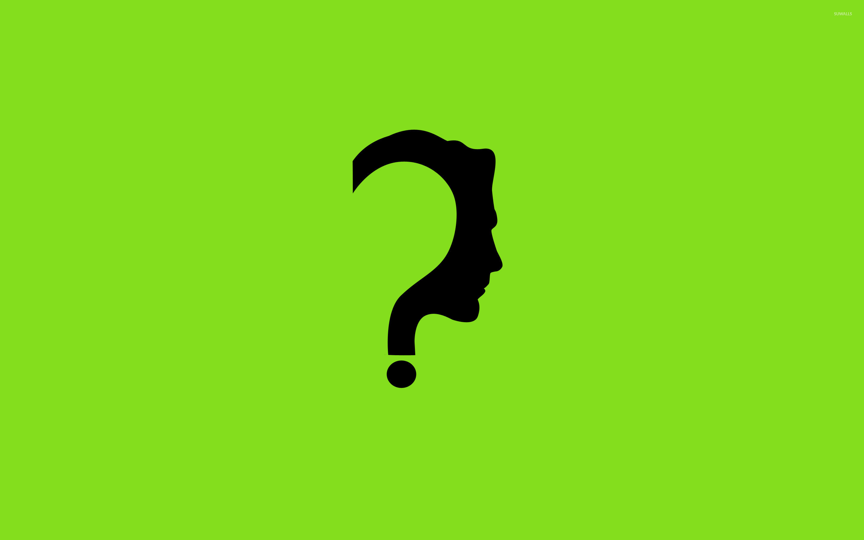 … face on a question mark wallpaper minimalistic wallpapers 24095 …