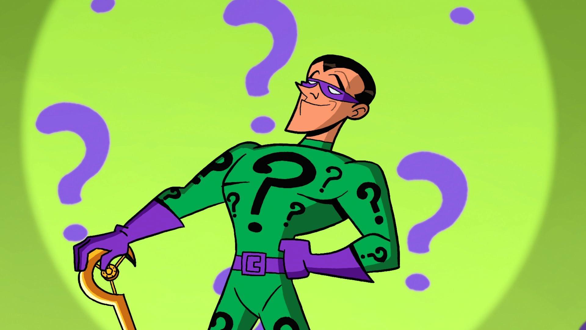 Brave & The Bold Animated Riddler- John Michael Higgins