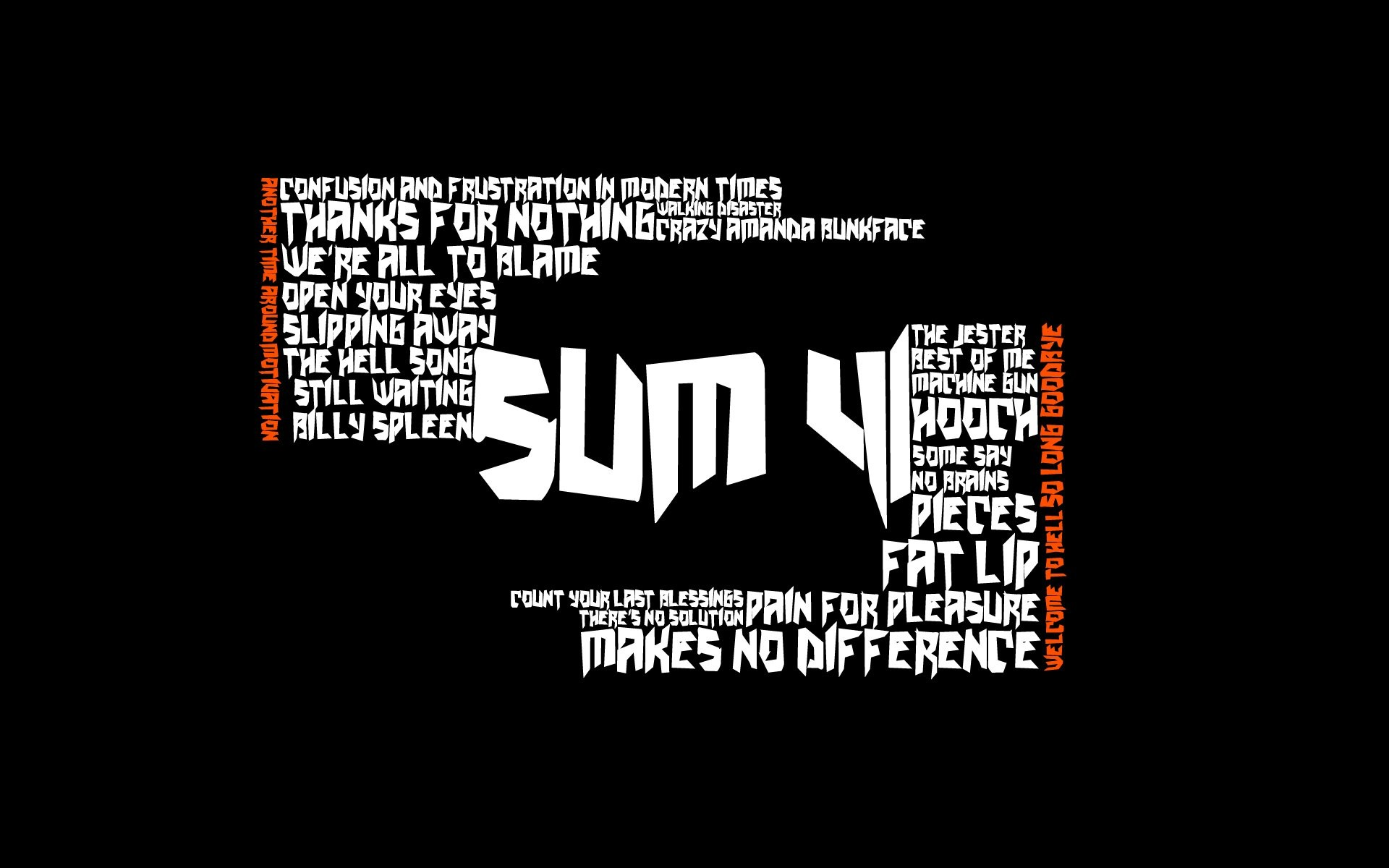 Latest Collection of Sum 41 Wallpapers, D-Screens