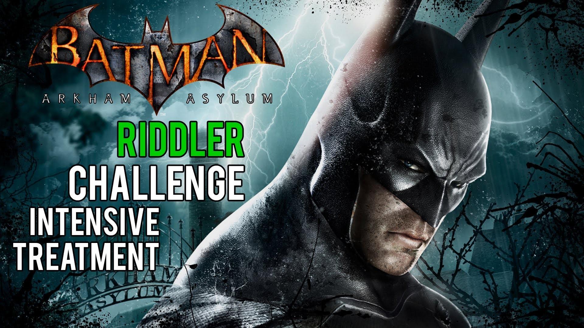 Batman Arkham Asylum – Intensive Treatment Riddler Challenge (Trophies,  Riddles, Teeth and Spirits) – YouTube