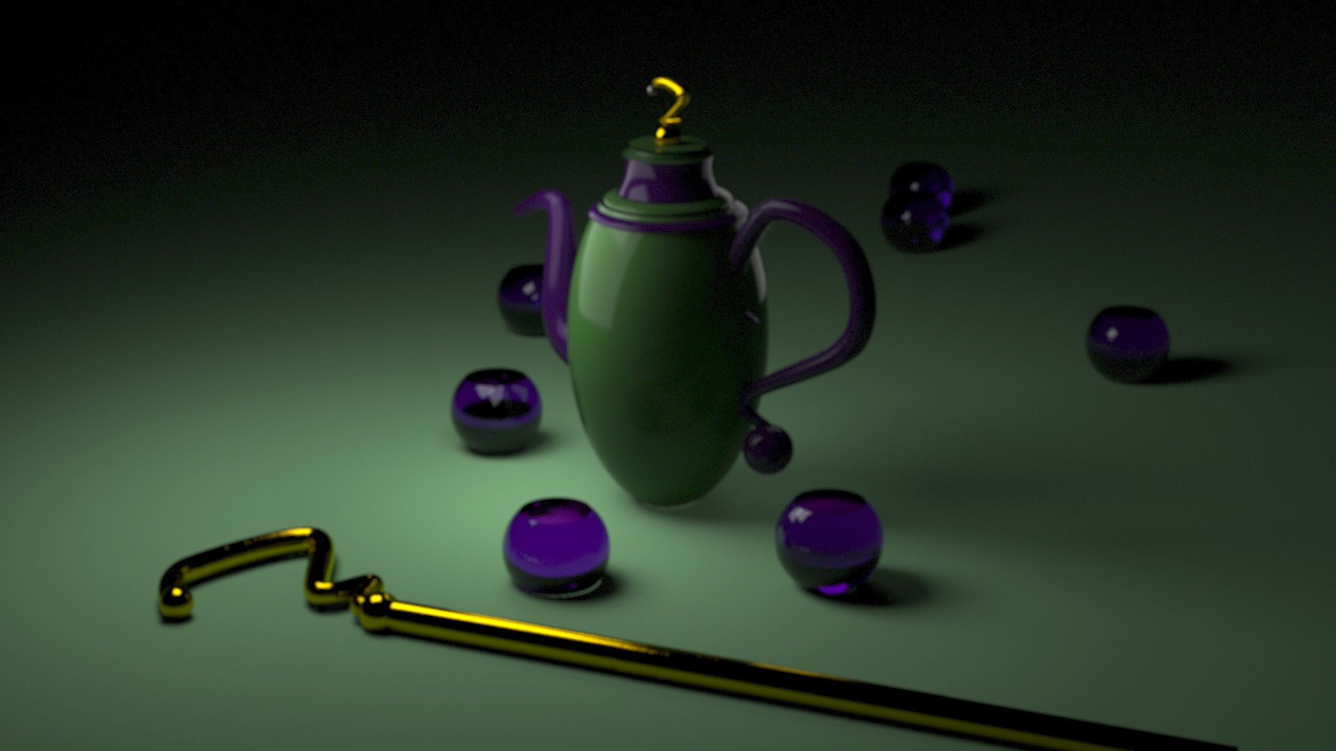 Tea Time With The Riddler
