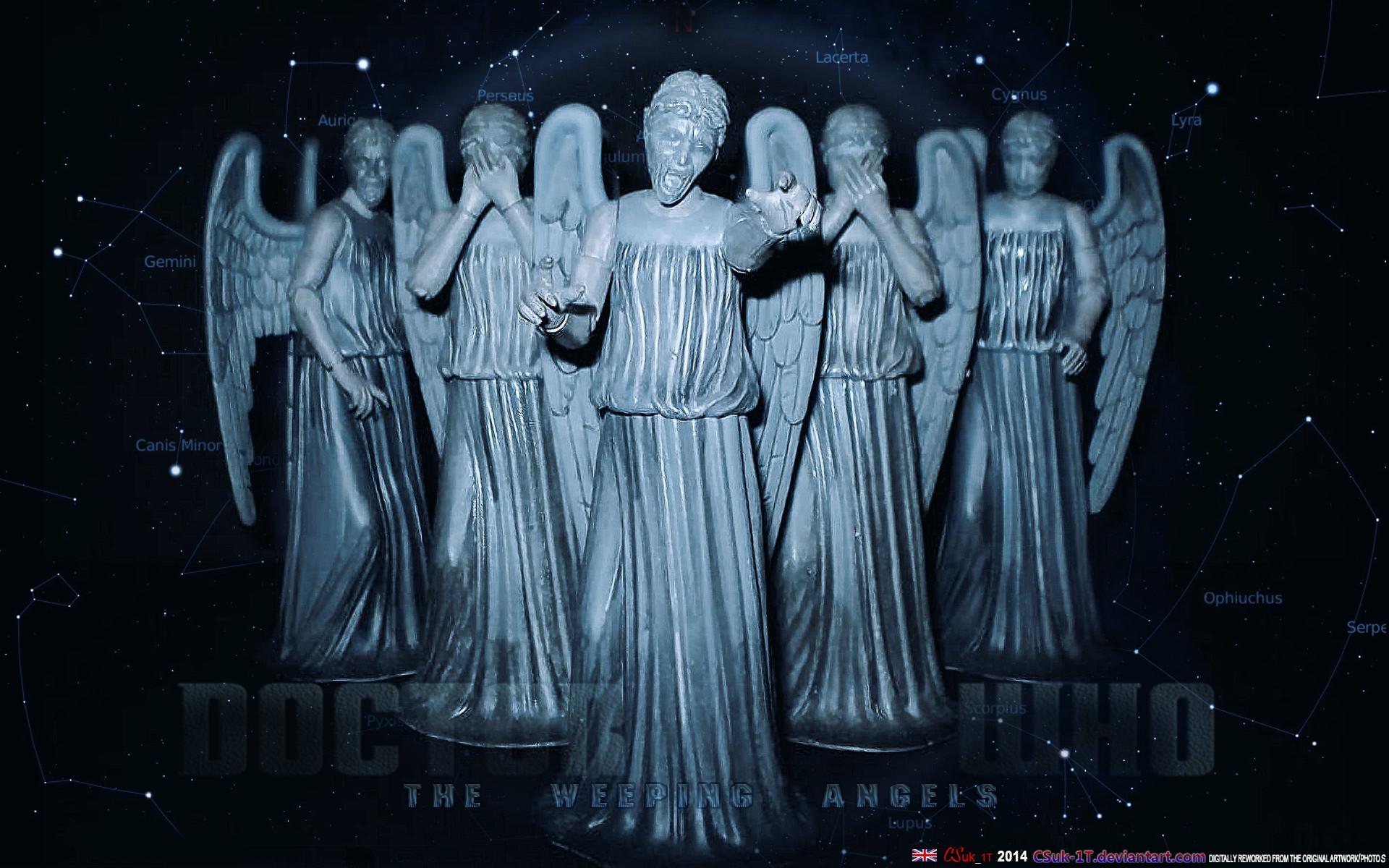 Weeping Angel iPhone Wallpaper 1920×1200