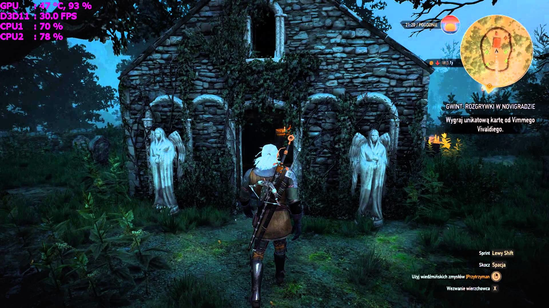 The Witcher 3 : Easter Egg , Doctor Who , The Weeping Angels , Don't Blink  (Wiedźmin 3) – YouTube