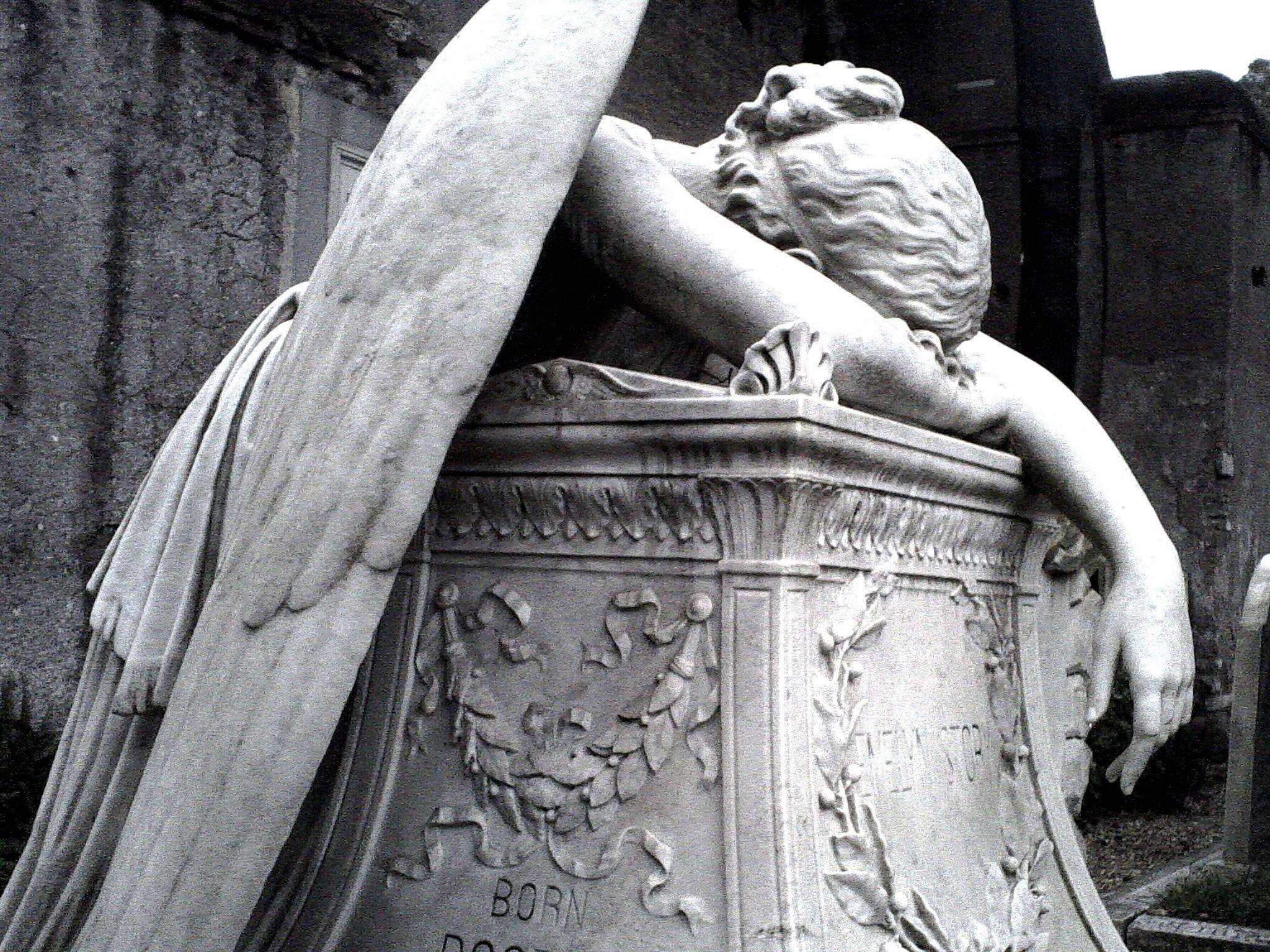 The Protestant Cemetery of Rome: Fallen Angel – Imgur #stone #angels  #sculpture