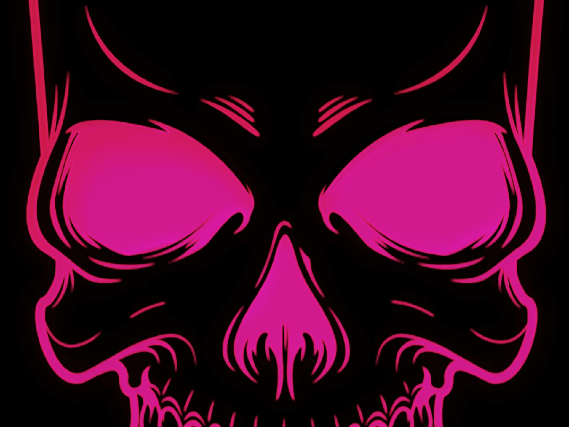 Pink Skull Wallpaper – Wallpaper Zone