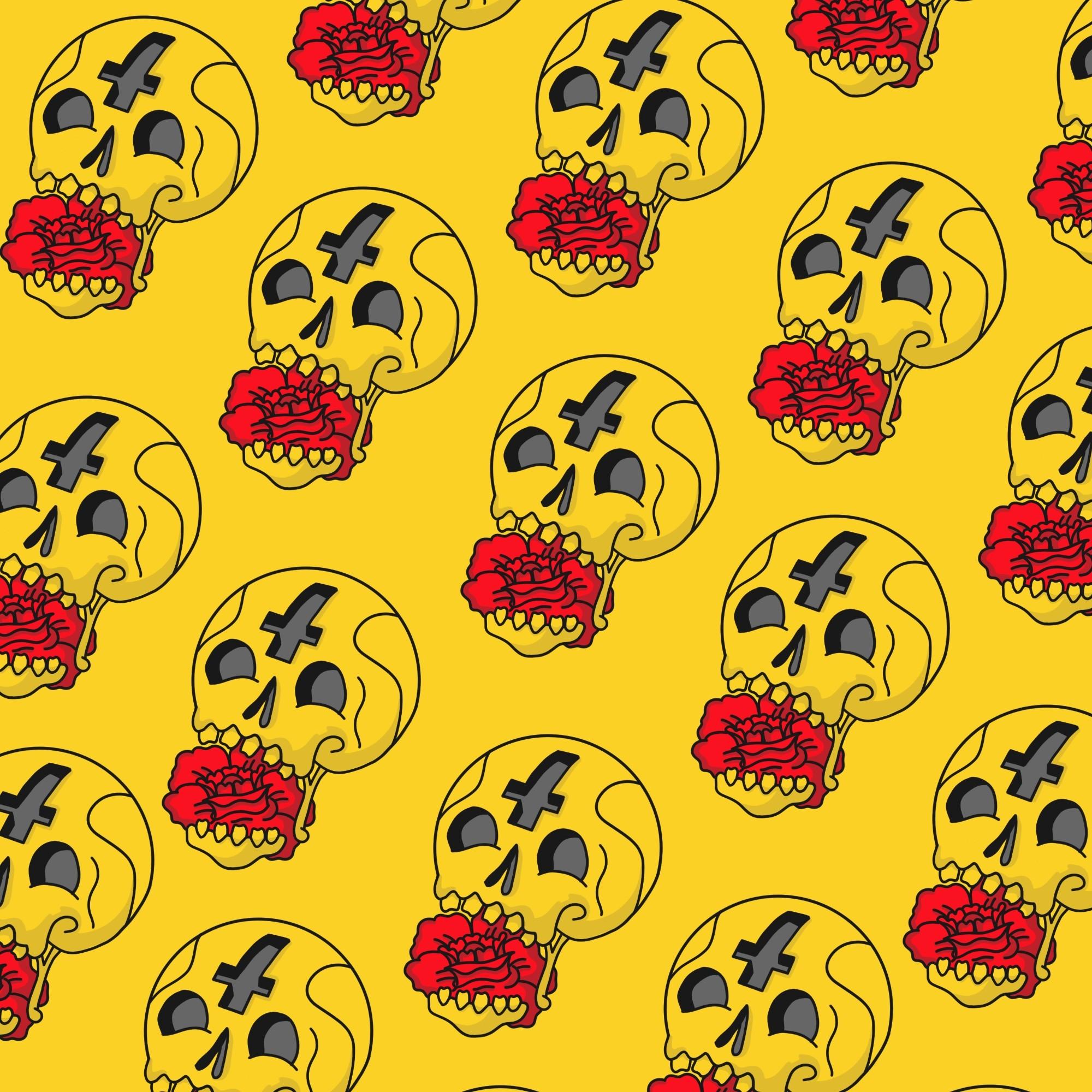 Sugar Skull Wallpaper by AdamTav on DeviantArt
