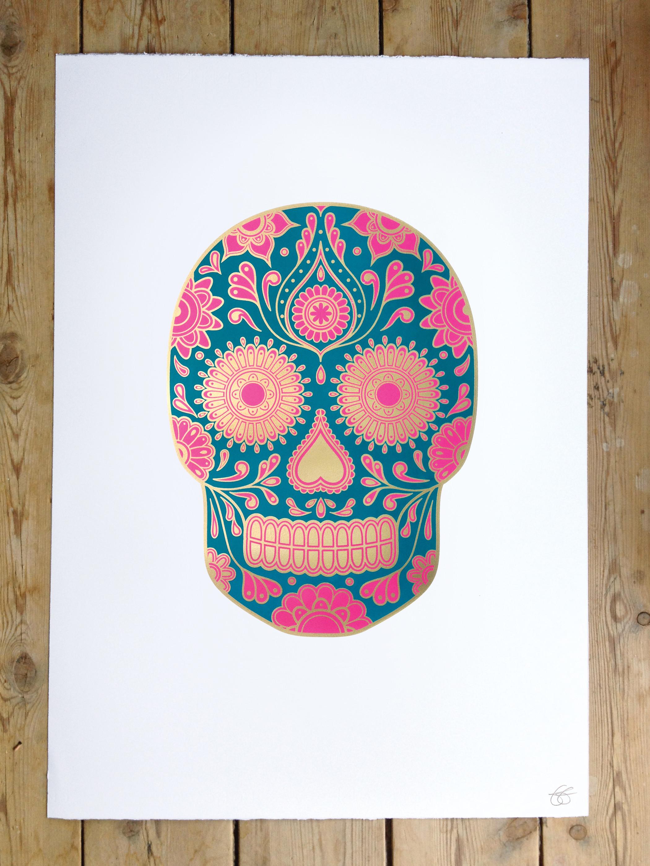 Sugar Skulls Wallpaper Sugar skull wallpaper,