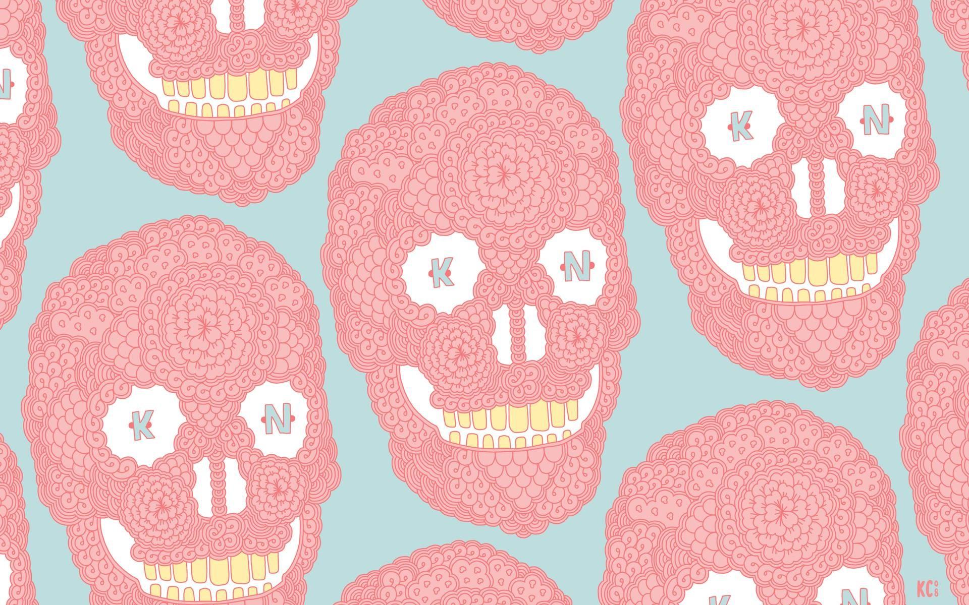 Pastel Skulls Wallpapers, Pastel Skulls Myspace Backgrounds, Pastel .