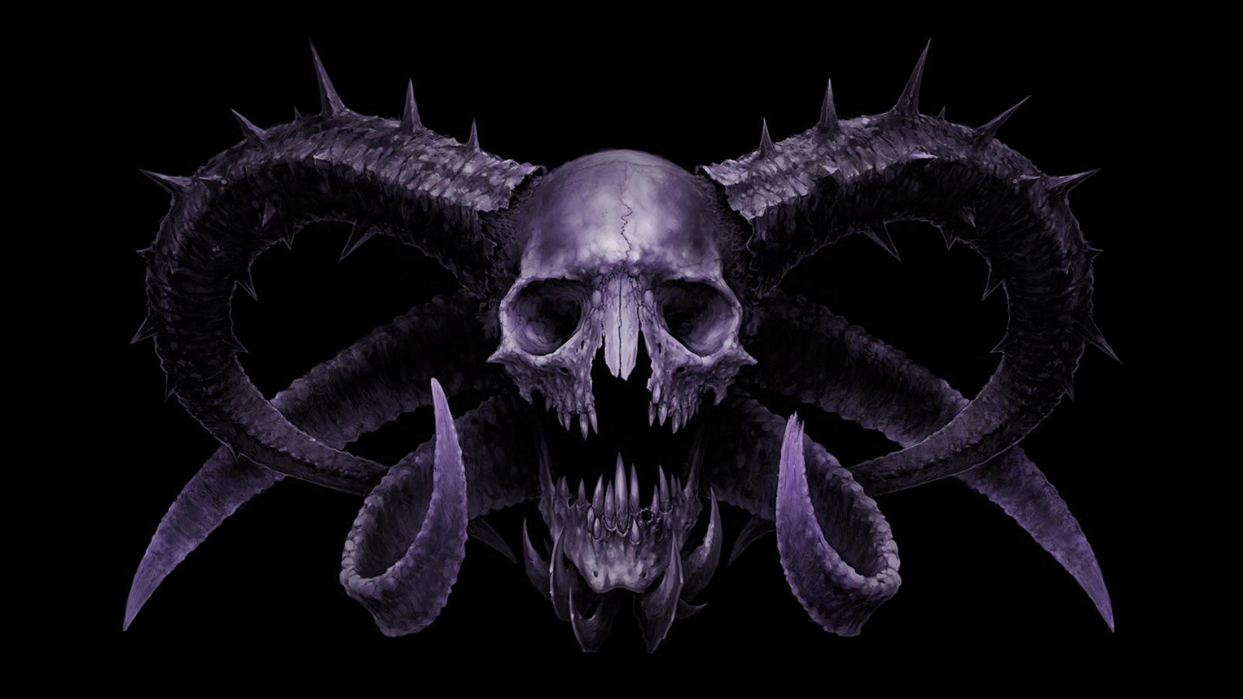 Wallpapers Skull Demon Hd 2560×1440
