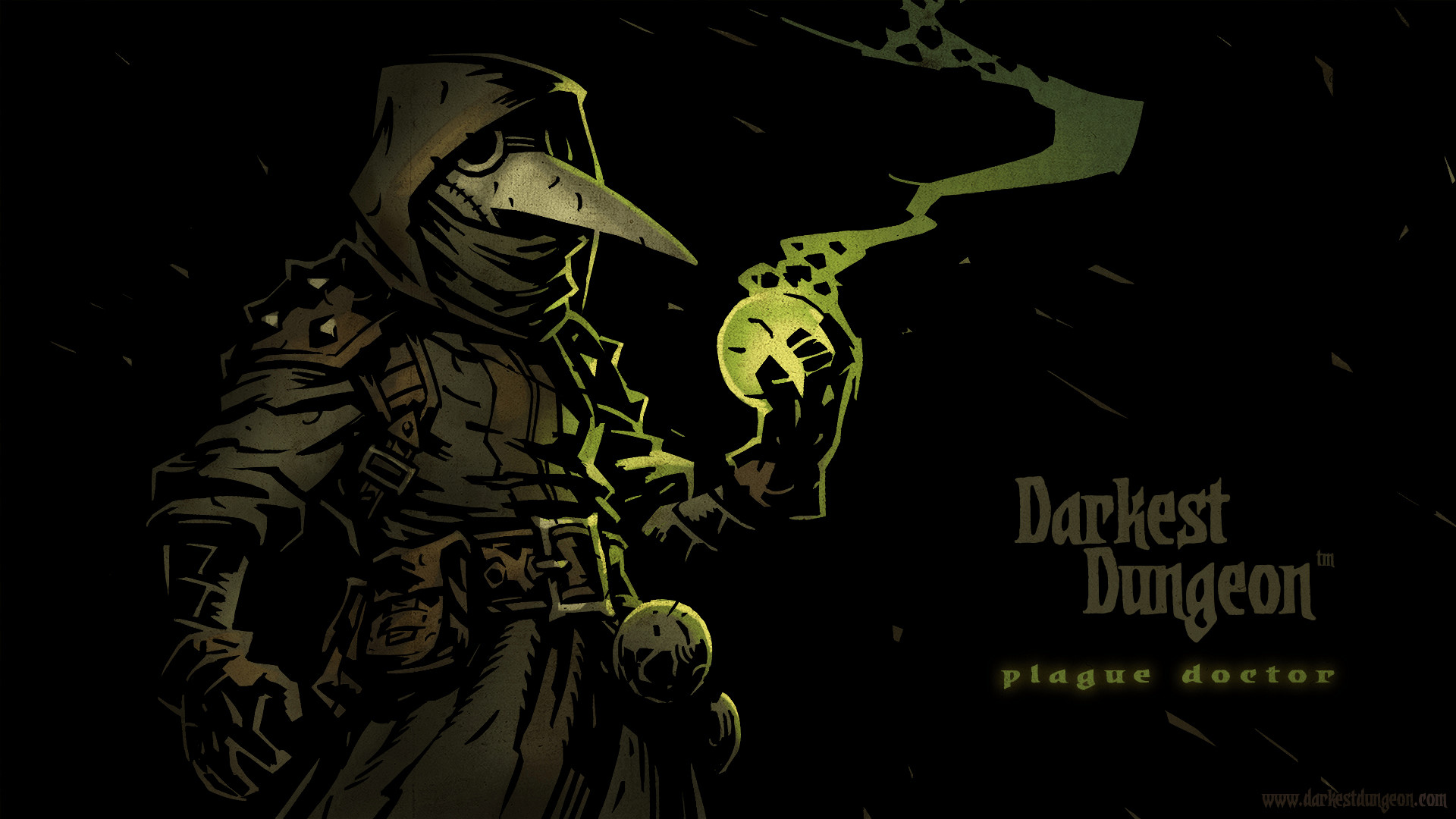 "Plague Doctor    Darkest Dungeon    ""A doctor, researcher and alchemist who"