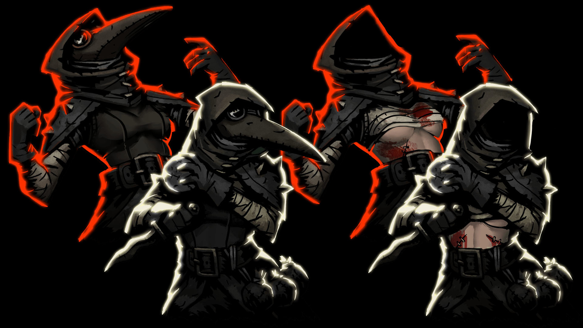 Backless and Bloody Plague Doctor at Darkest Dungeon Nexus – Mods and  community