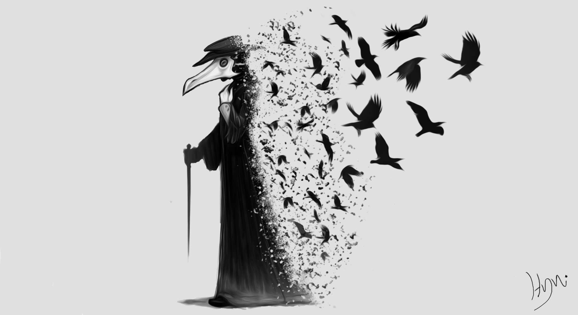 General Plague plague doctors the Darkness dark raven crow black