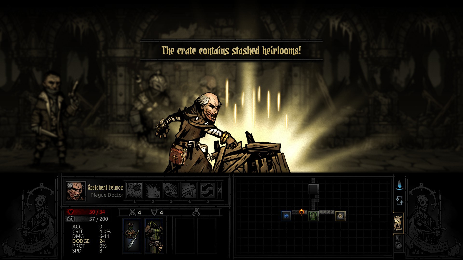 The Fanatic Plague doctor at Darkest Dungeon Nexus – Mods and community