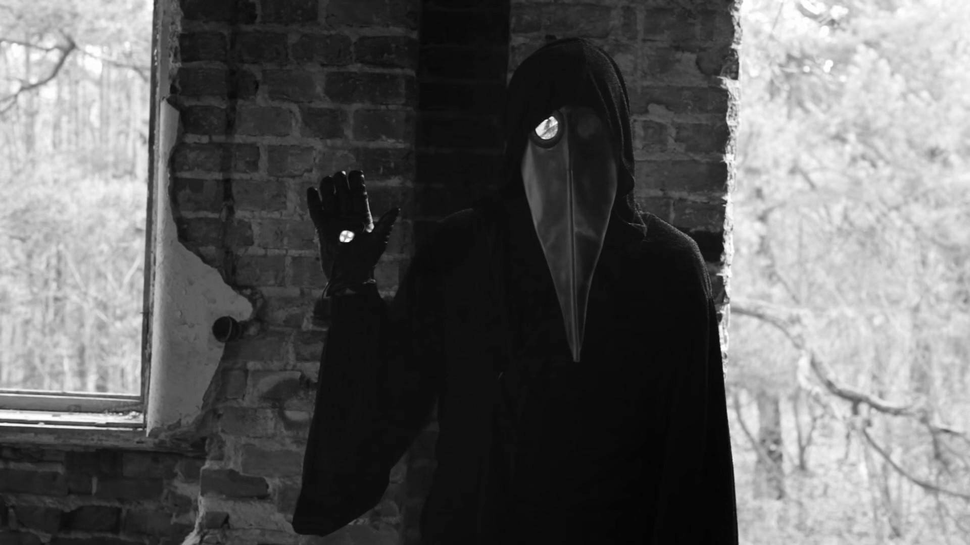 Creepy 11B-X-1371 Video masked man