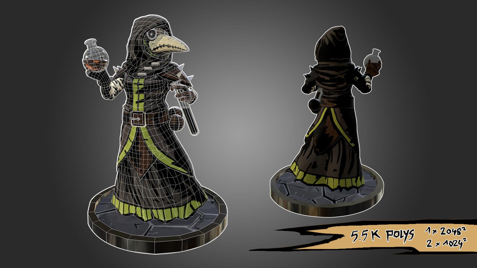 Darkest Dungeon Plague Doctor