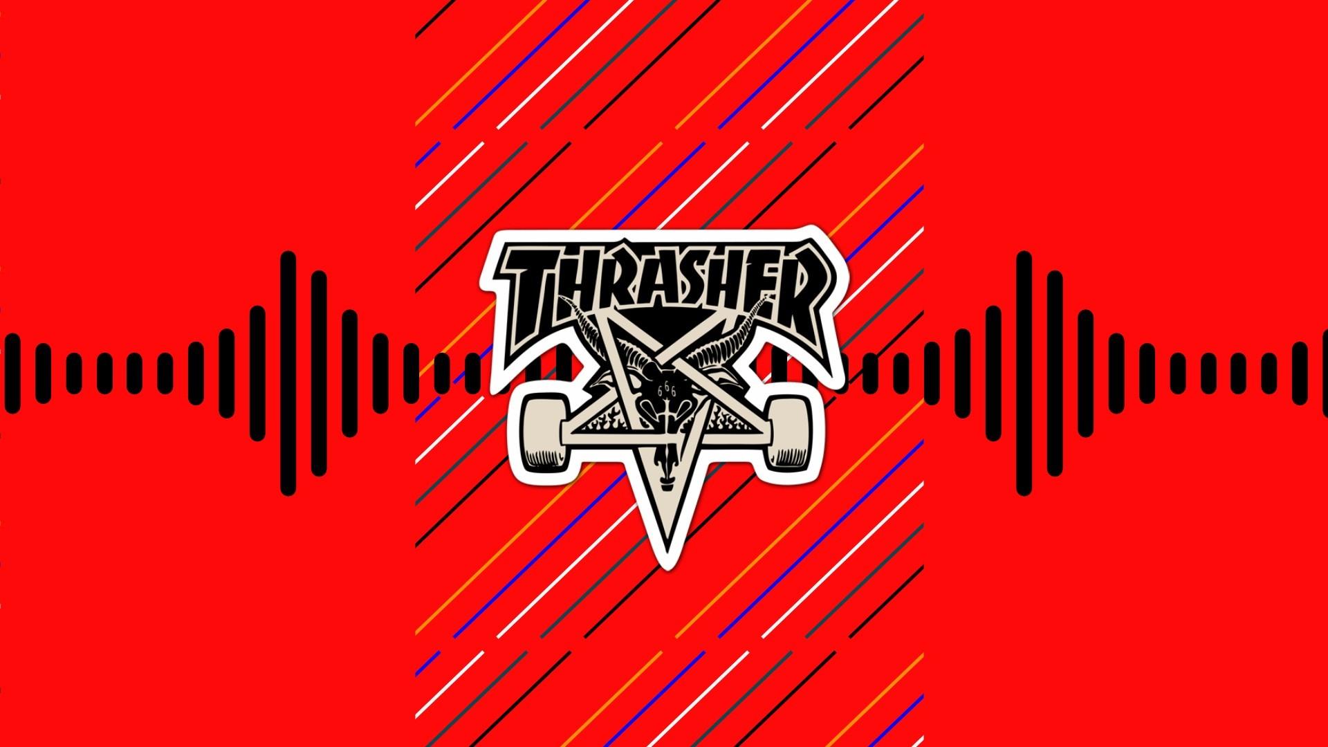 Thrasher Logo Skateboard Skateboarding Wallpaper 5452 –  ChainPixel.com