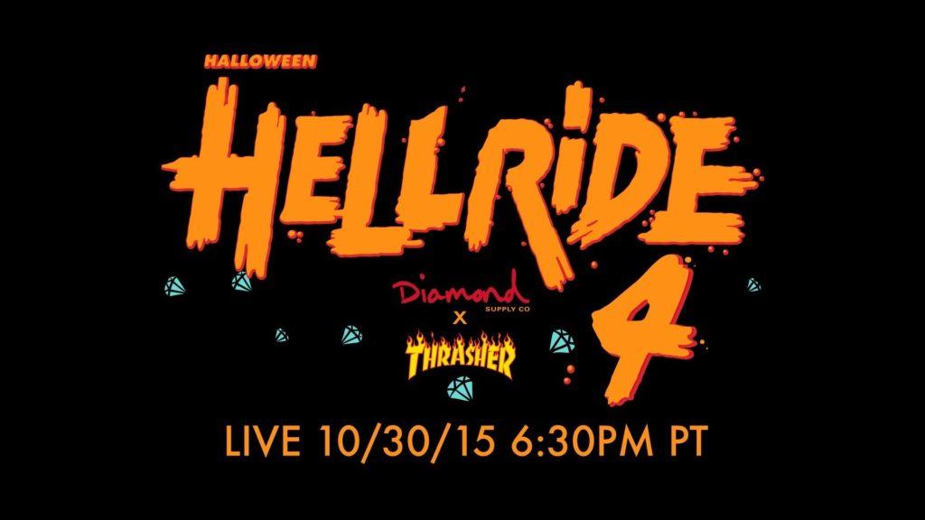 Diamond Supply Co. x Thrasher Halloween Hellride 4 | LIVE Skateboarding