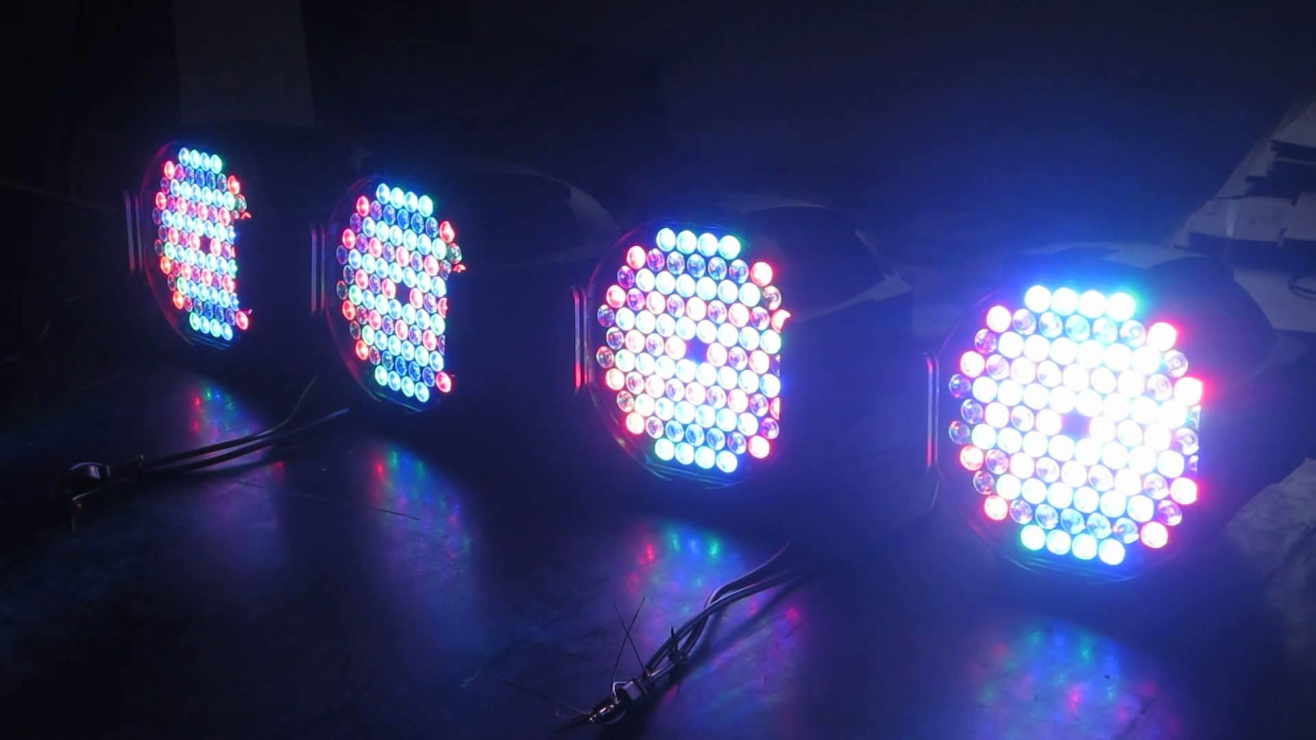 84*3w RGBWA led par light led stage lighting led wash light led par64