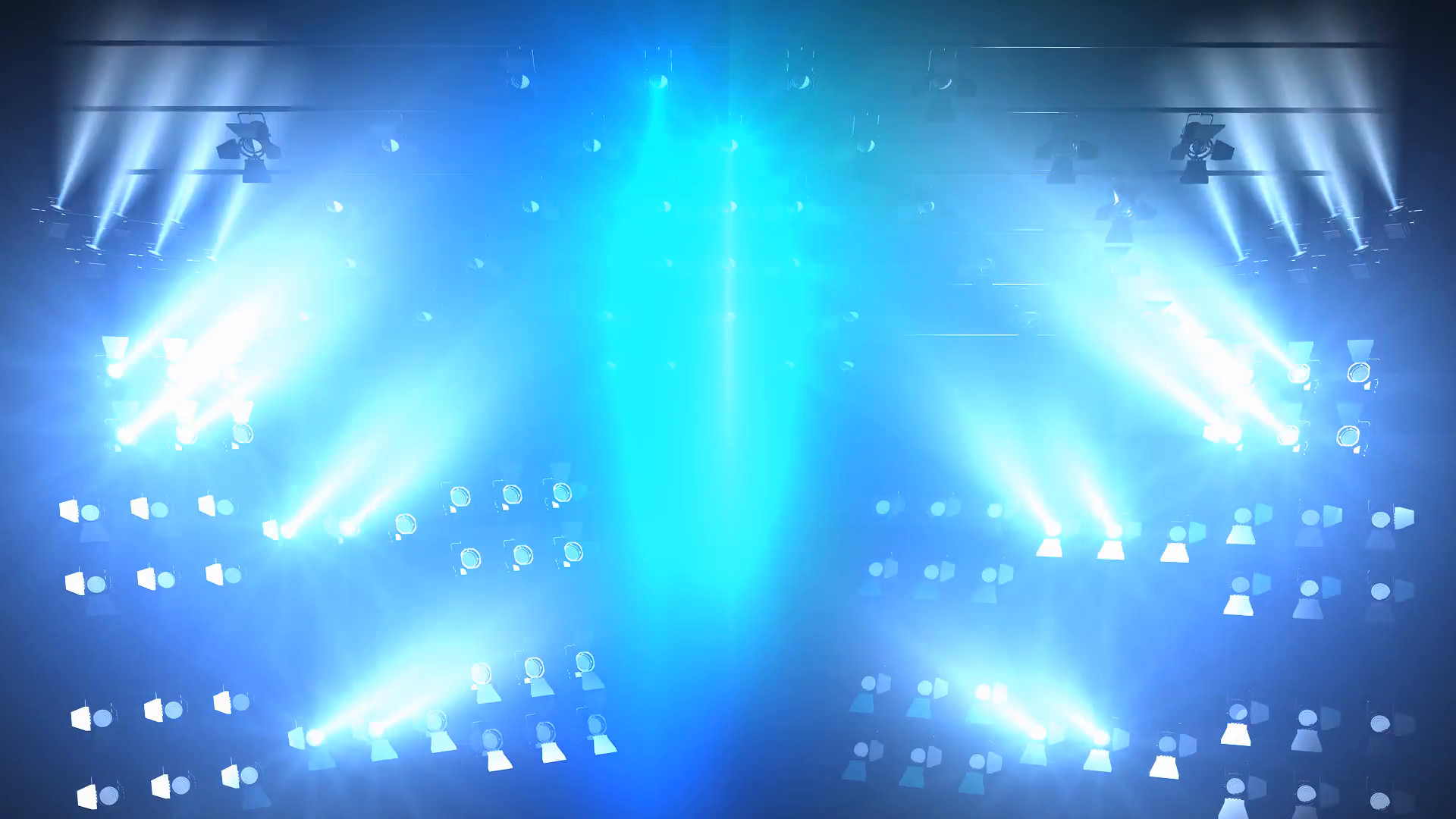 Concert lights flood animation, full stage lights. Motion Background –  VideoBlocks